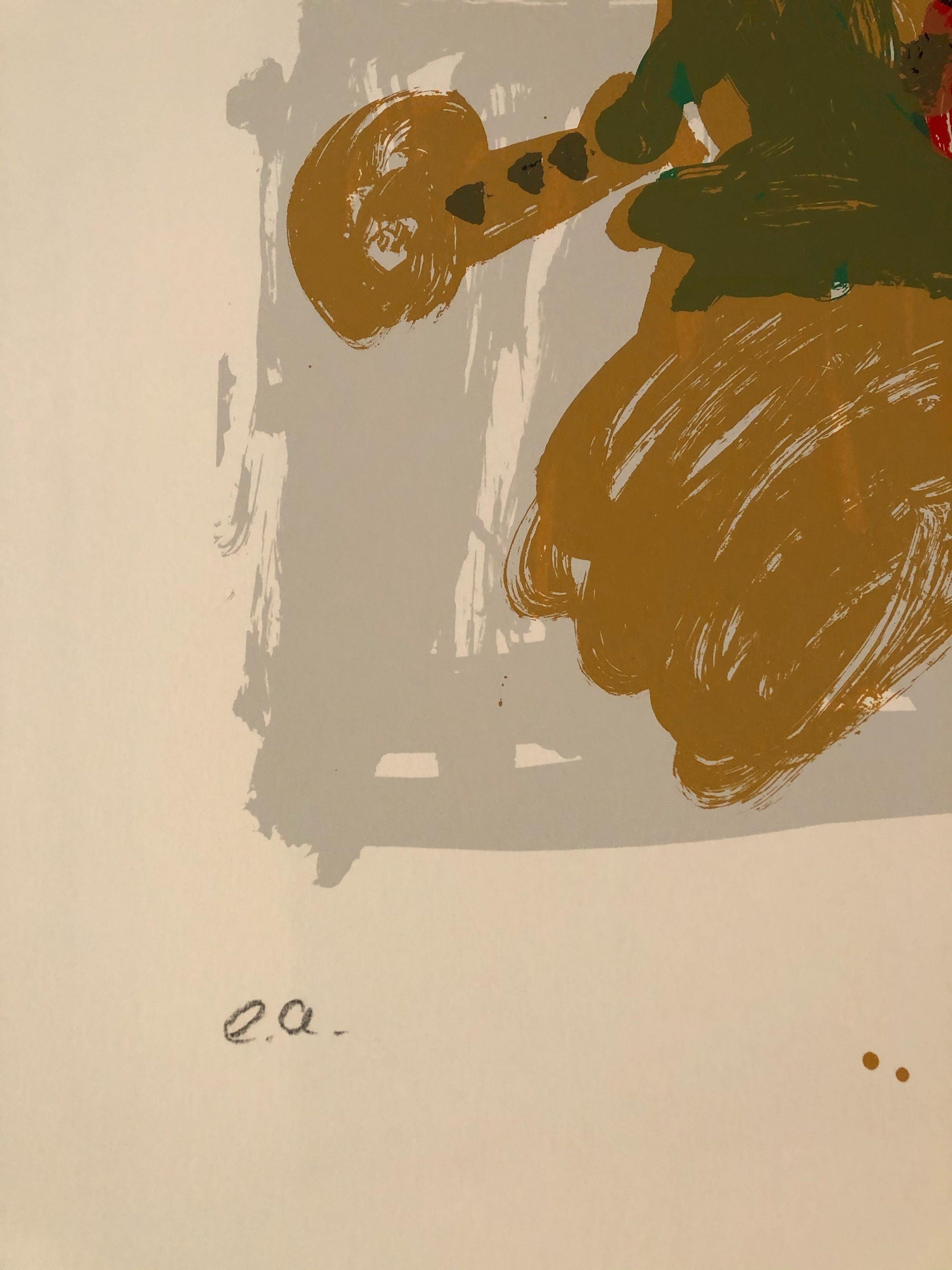 Markus Lüpertz - schöner Siebdruck, handsign.e.a.-Exemplar kopen? Bied vanaf 360!