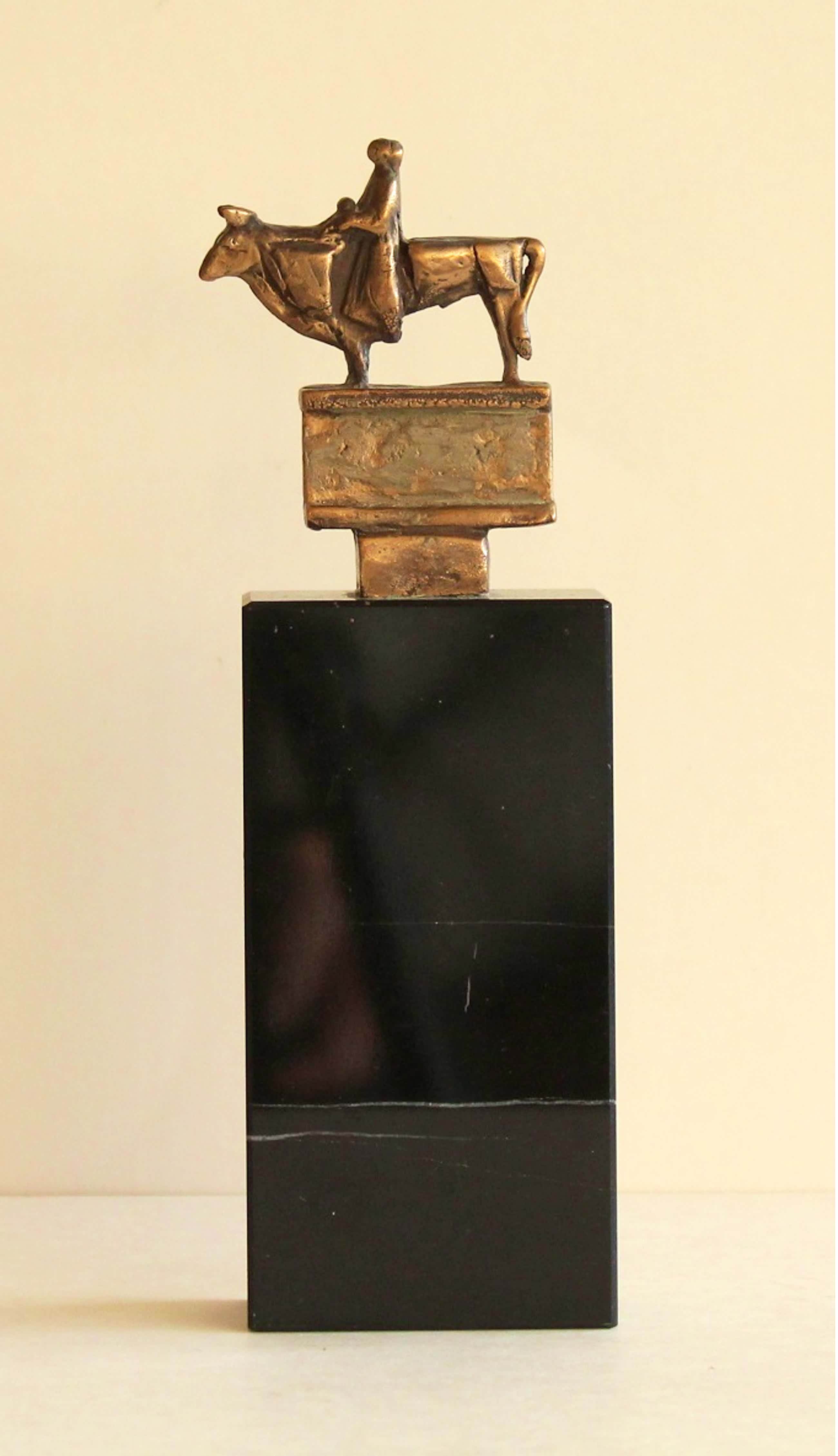Eric Claus - Bronze beeldje: Europa en de Stier, 2010 kopen? Bied vanaf 250!
