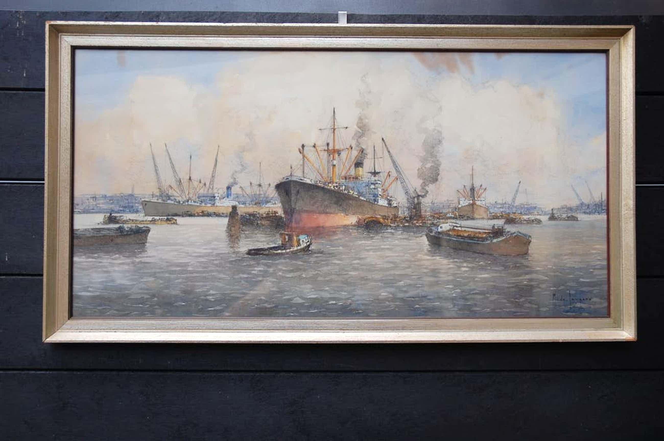 Marius de Jongere - M de Jongere Bedrijvigheid in Rotterdamse haven kopen? Bied vanaf 595!