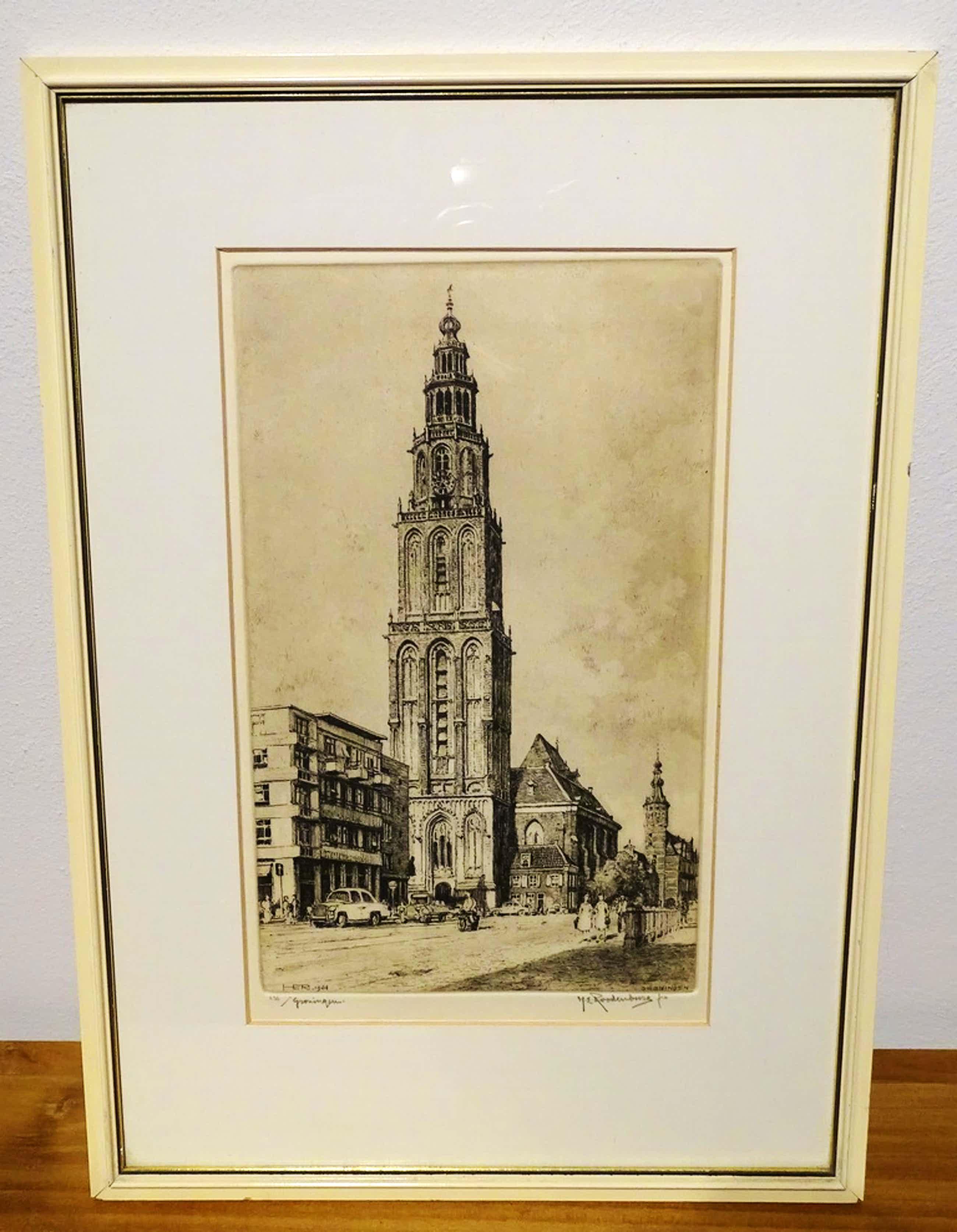 Hendrikus Roodenburg - Ets Groningen, Martinitoren kopen? Bied vanaf 35!