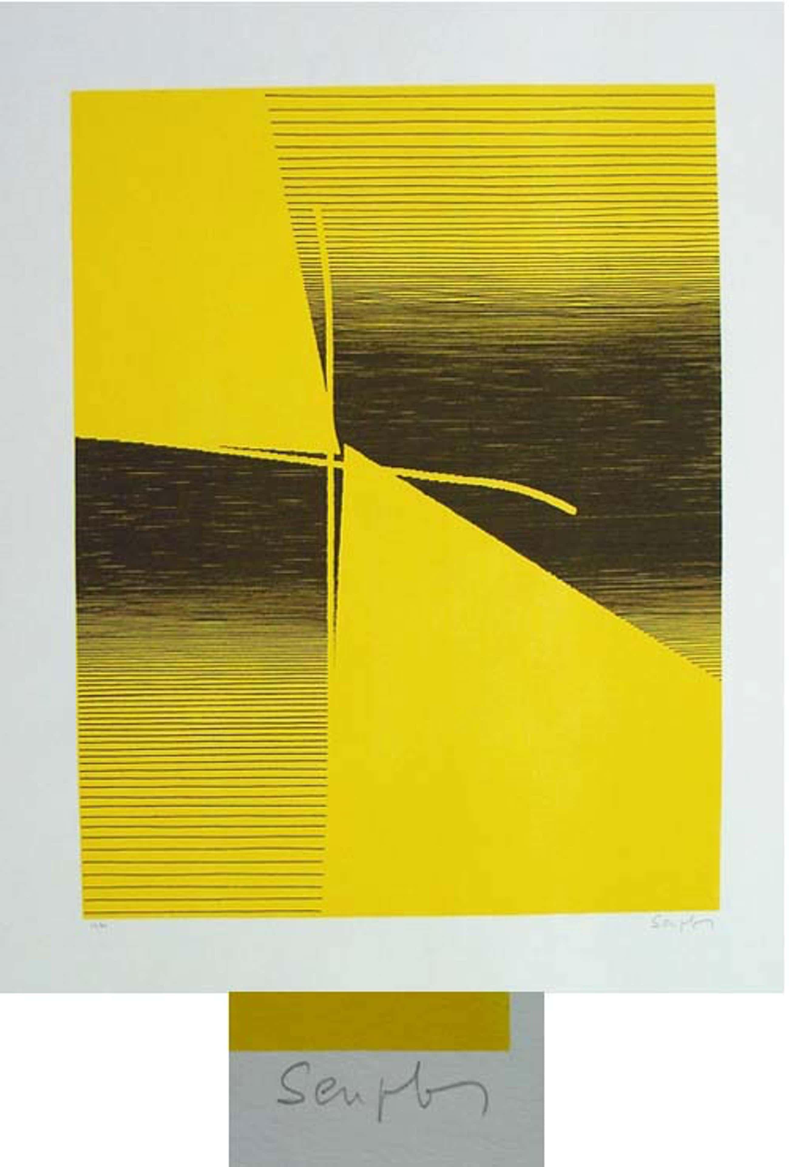 Michel Seuphor - - duo-duel - Farbserigrafie, handsigniert, numeriert, 1961 kopen? Bied vanaf 390!