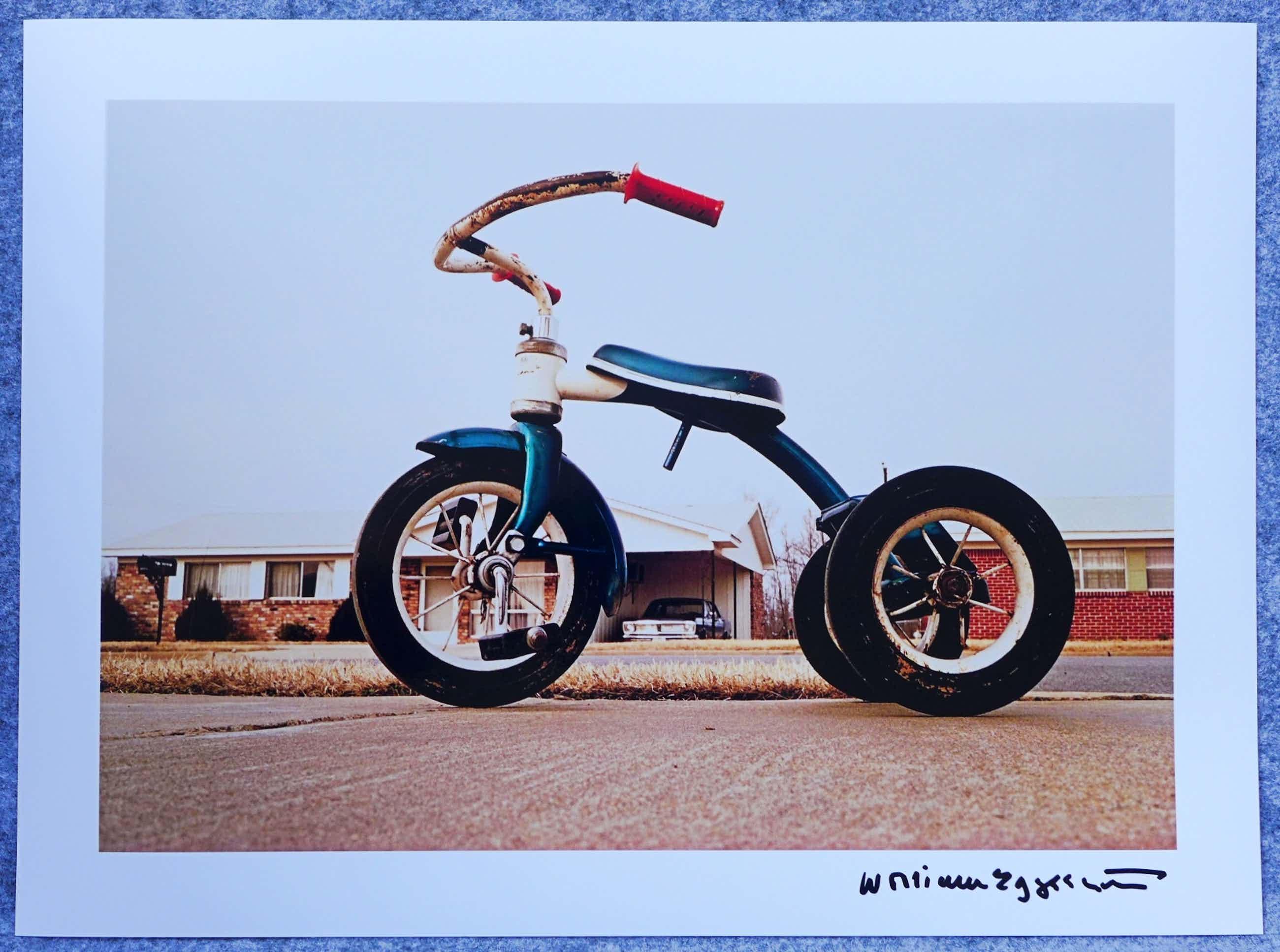 William Eggleston - Autogramm auf Fotografie Tricycle kopen? Bied vanaf 49!
