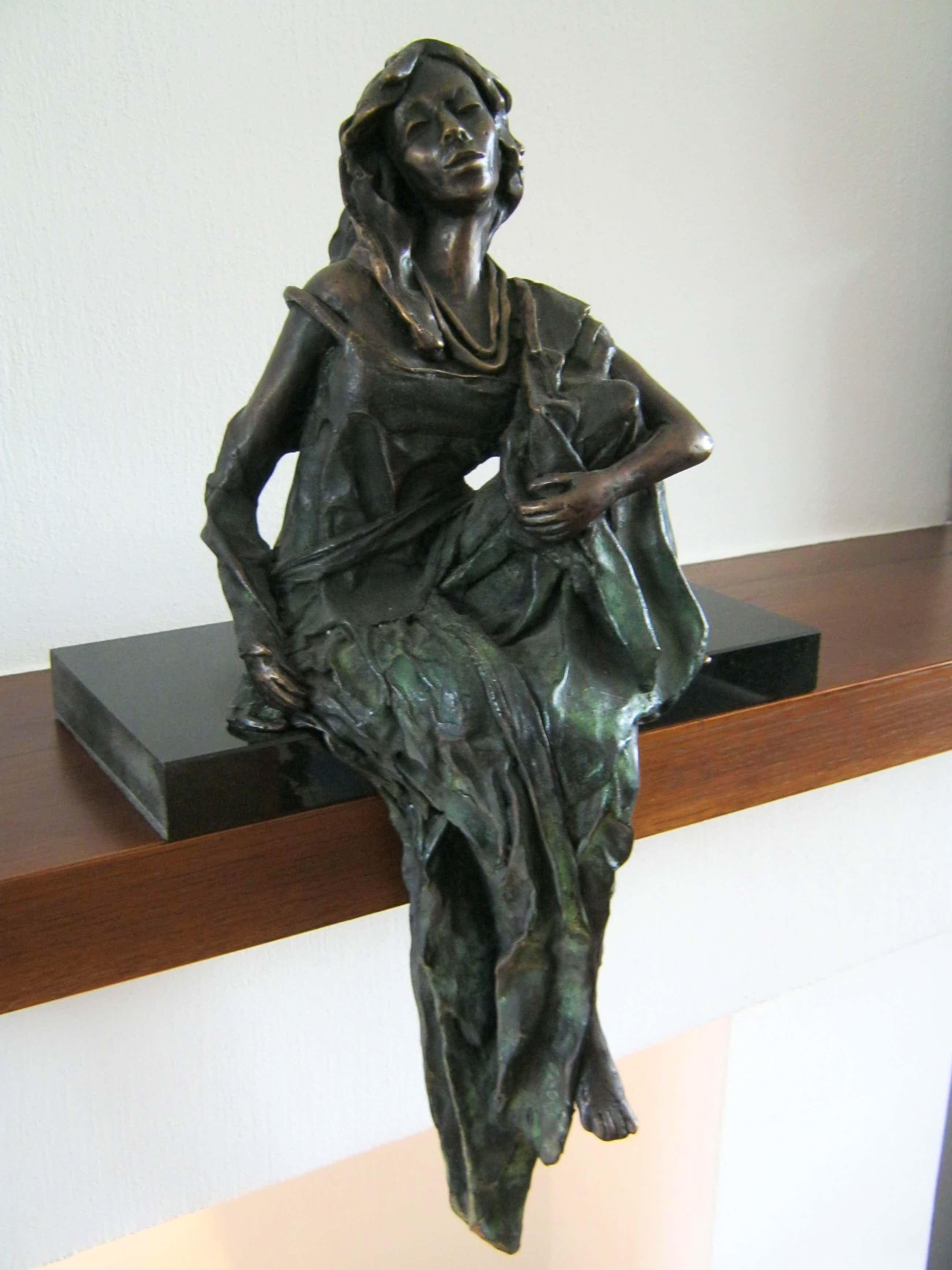 "Marianne Houtkamp - brons sculptuur - ""LADY S"" - oplage 5 van 8 - gesigneerd en genummerd kopen? Bied vanaf 4000!"