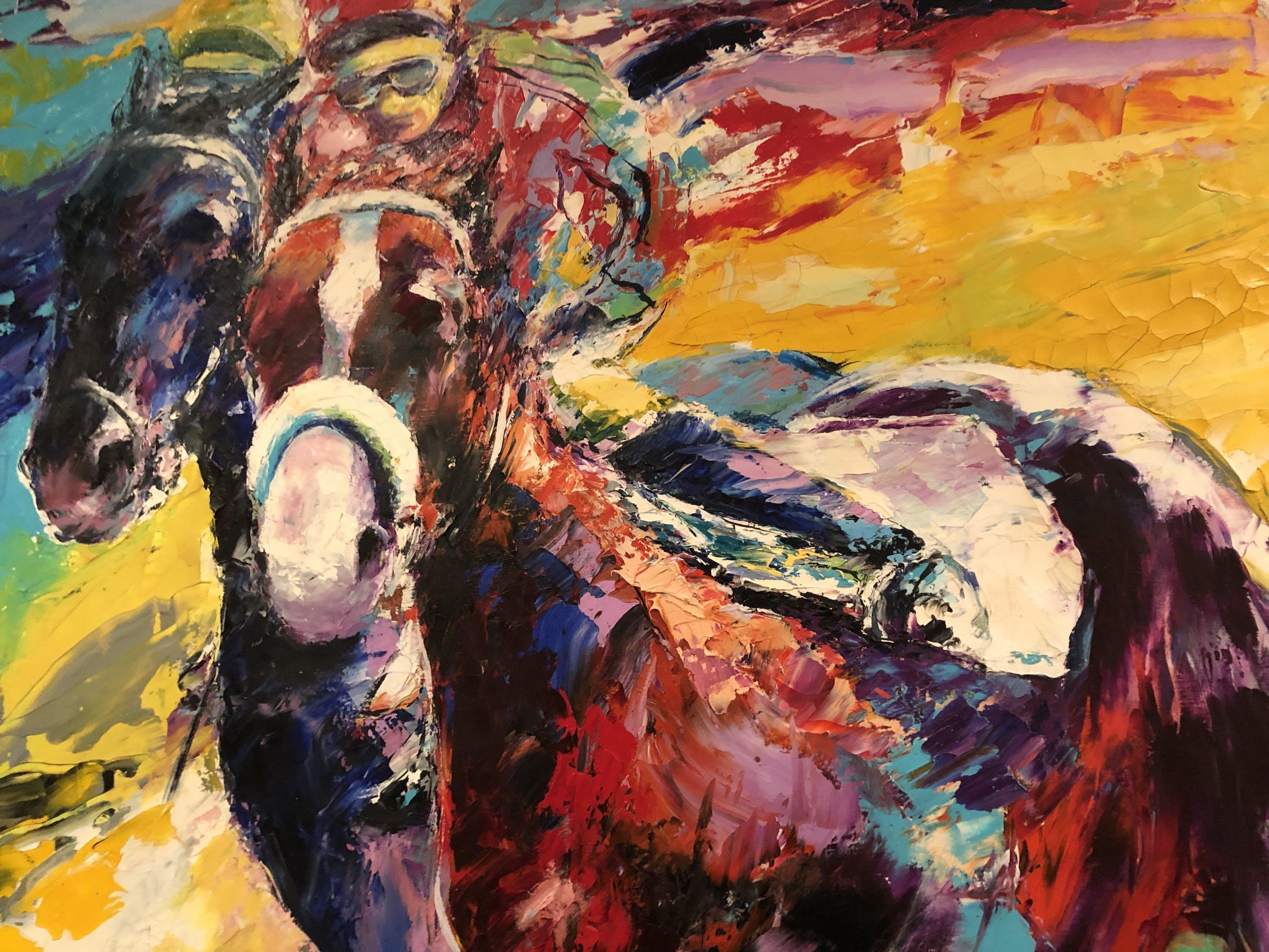 Frank Gude - Paardenrace (groot) kopen? Bied vanaf 425!