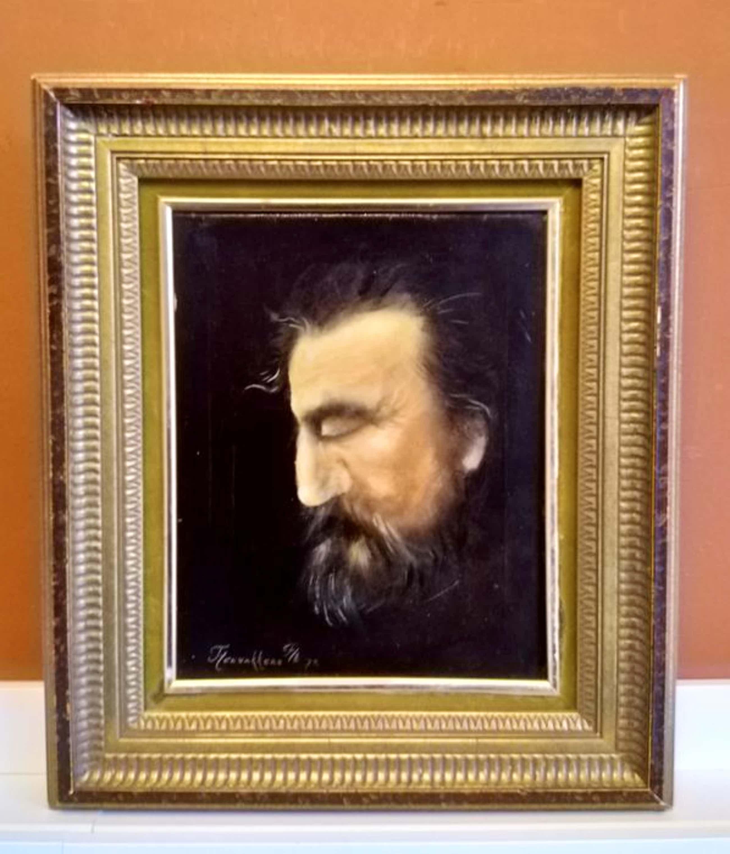 Thomas Heesakkers - (1946-) - portret van een man - 1973 kopen? Bied vanaf 45!