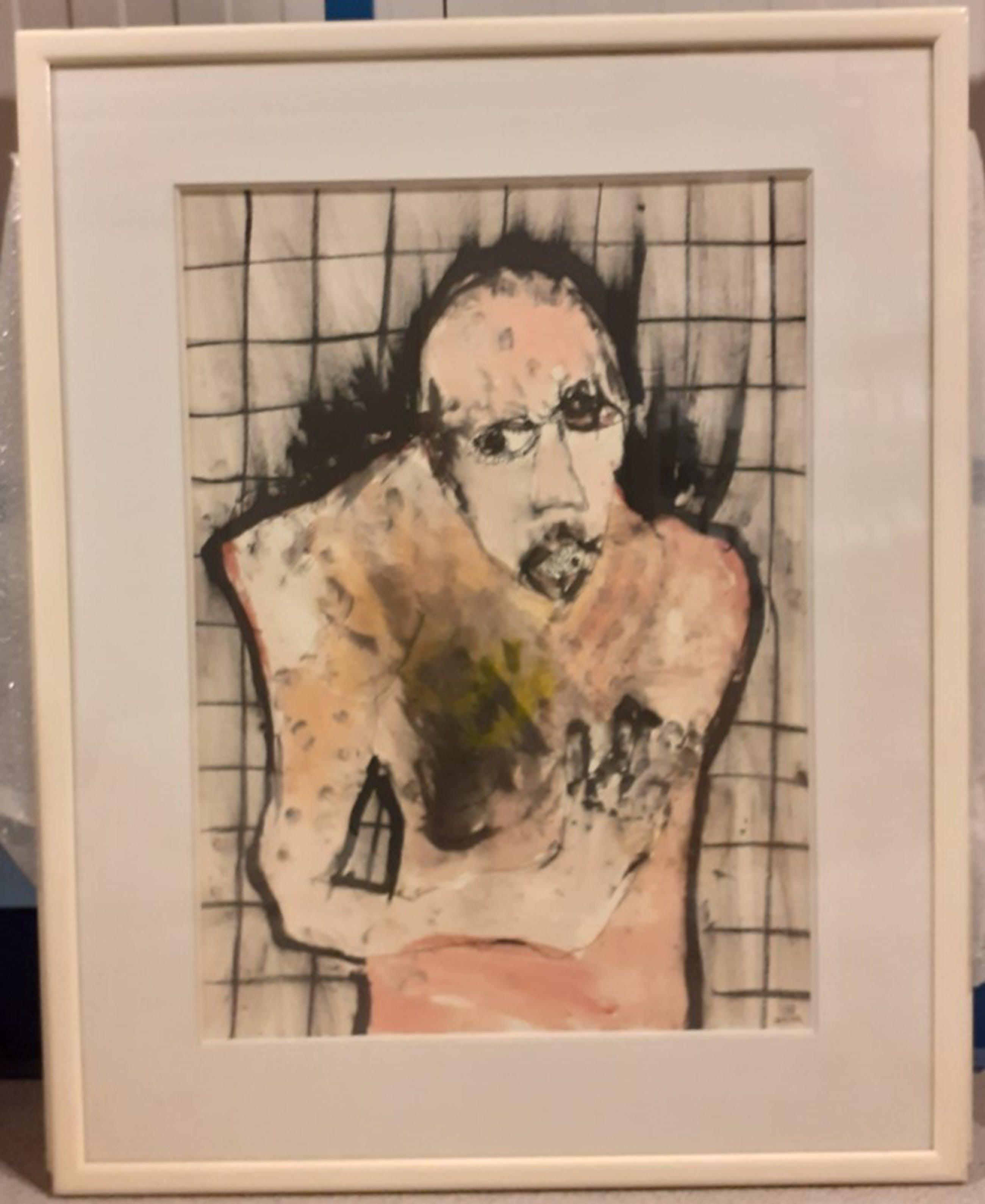 Michael Hafftka - abstract portrer kopen? Bied vanaf 430!