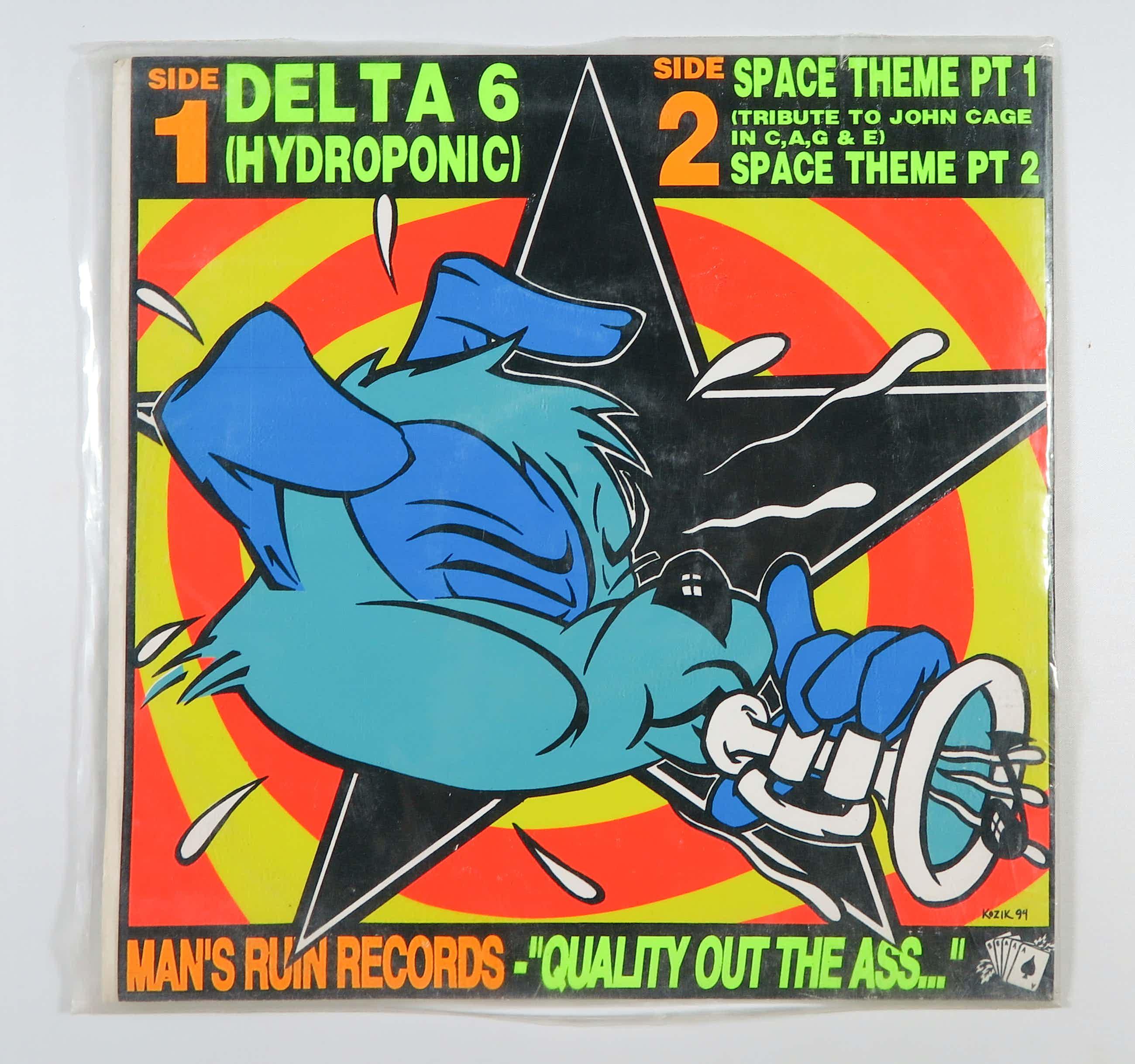 E.A.R. - 10inch - Delta 6 (wit vinyl) kopen? Bied vanaf 10!