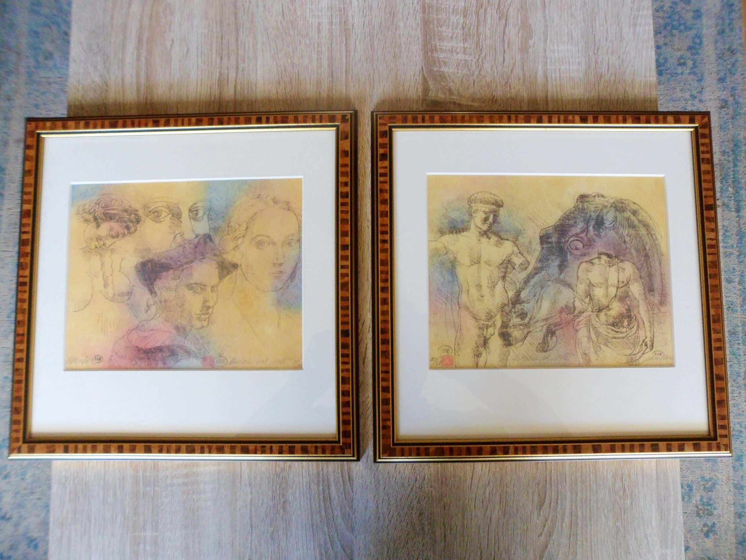 Enric Adsera Riba - 2 Etsen , Titel. Historia del site. mooi ingelijst kopen? Bied vanaf 45!