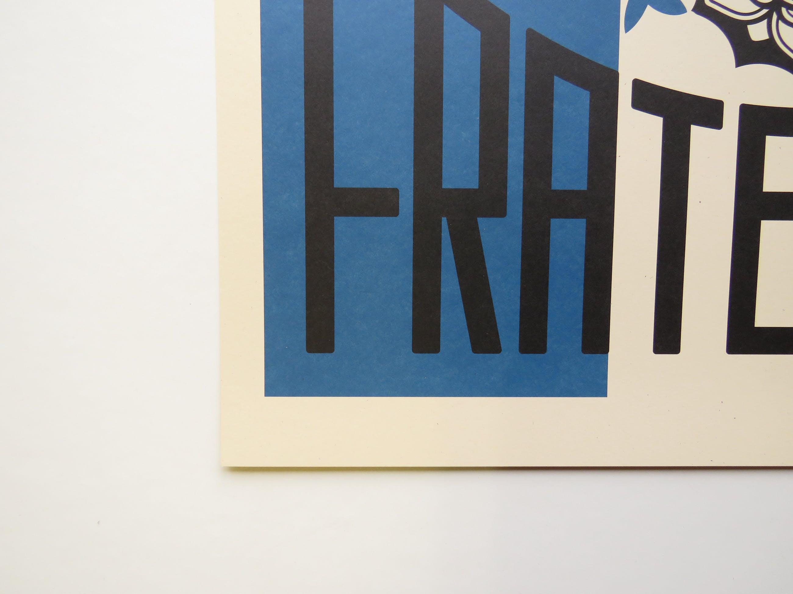 Shepard Fairey - LIBERTÉ, ÉGALITÉ, FRATERNITÉ kopen? Bied vanaf 1!
