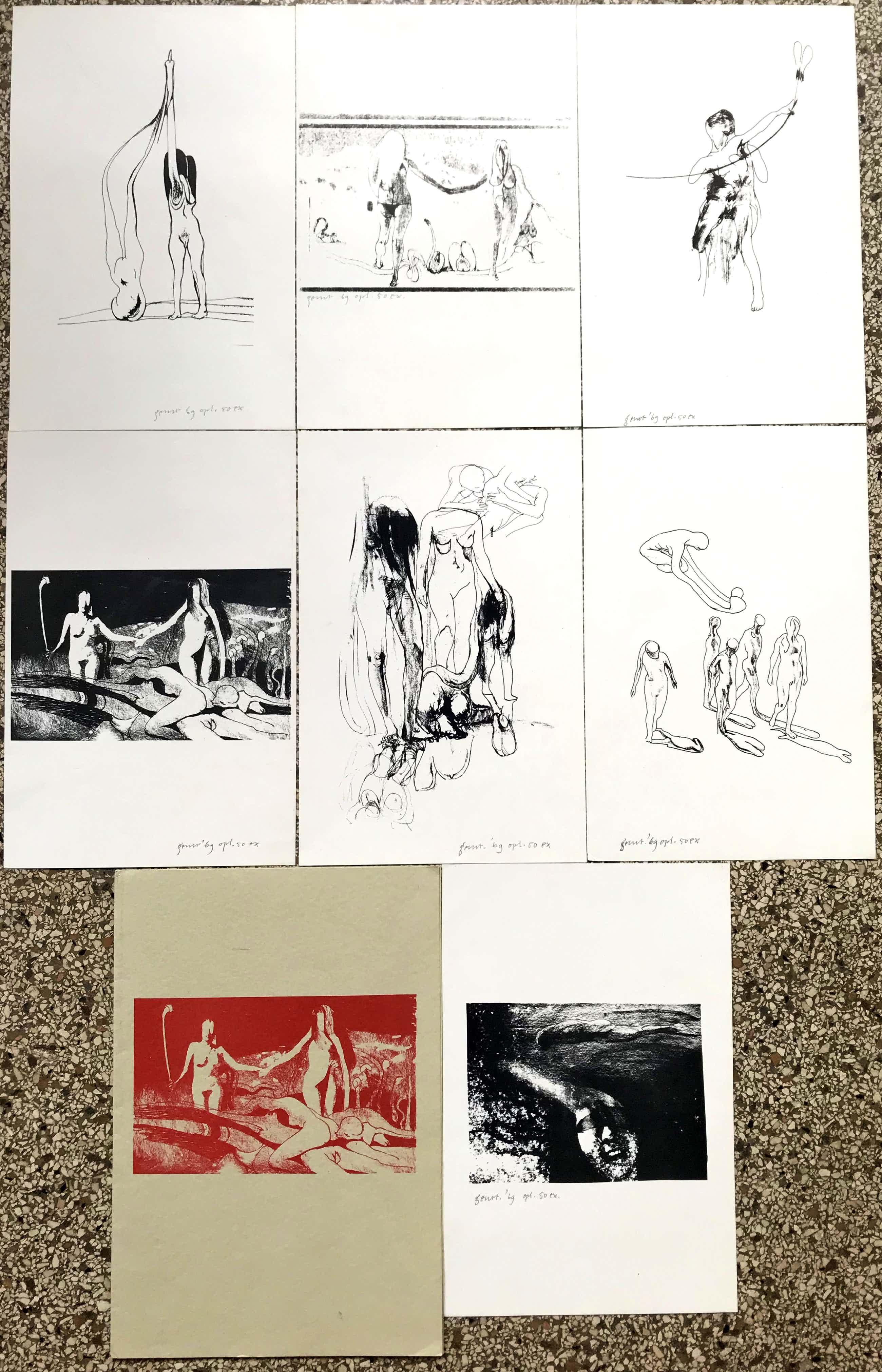 Geurt van Dijk - Map met Erotische werken - gelimiteerde oplage, Handgesigneerd 1969 kopen? Bied vanaf 100!