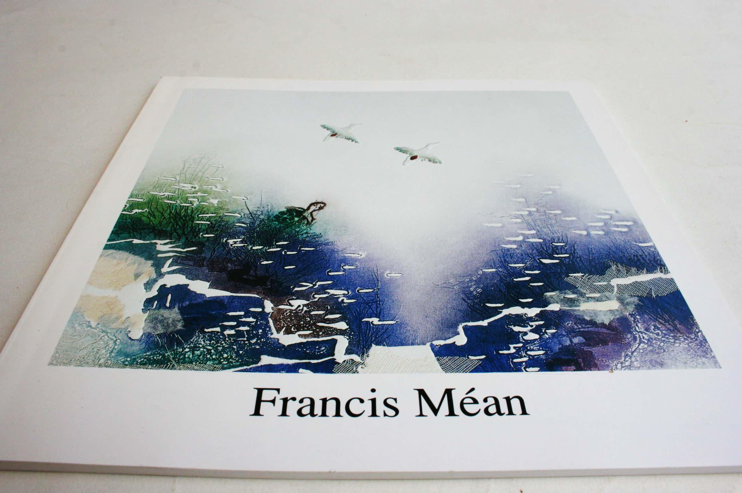 Francis Mean - Kunstkatalog mit Originalzeichnung kopen? Bied vanaf 30!
