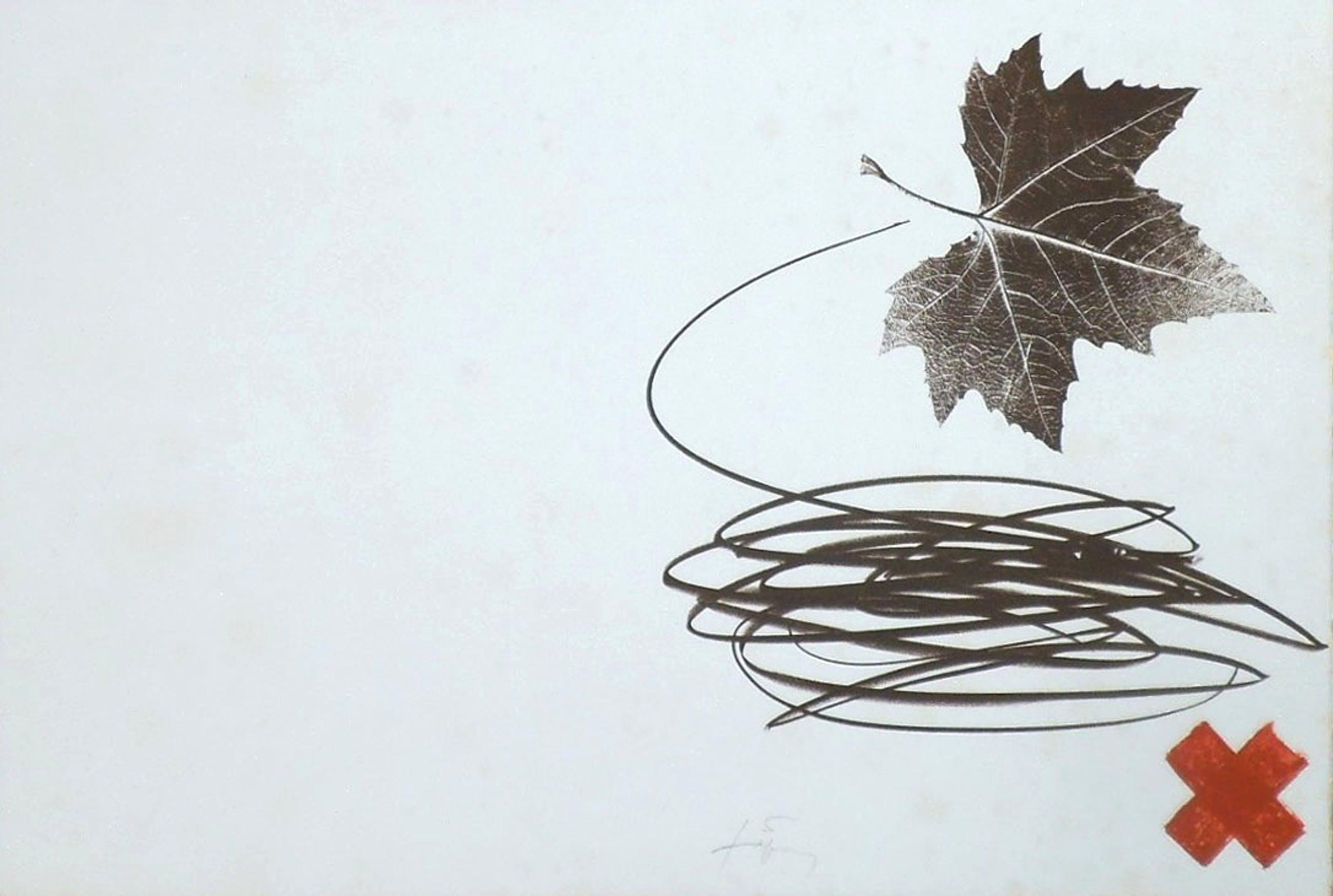 Antoni Tapies - Original-Lithographie, handsigniert, Galfetti 921 kopen? Bied vanaf 280!