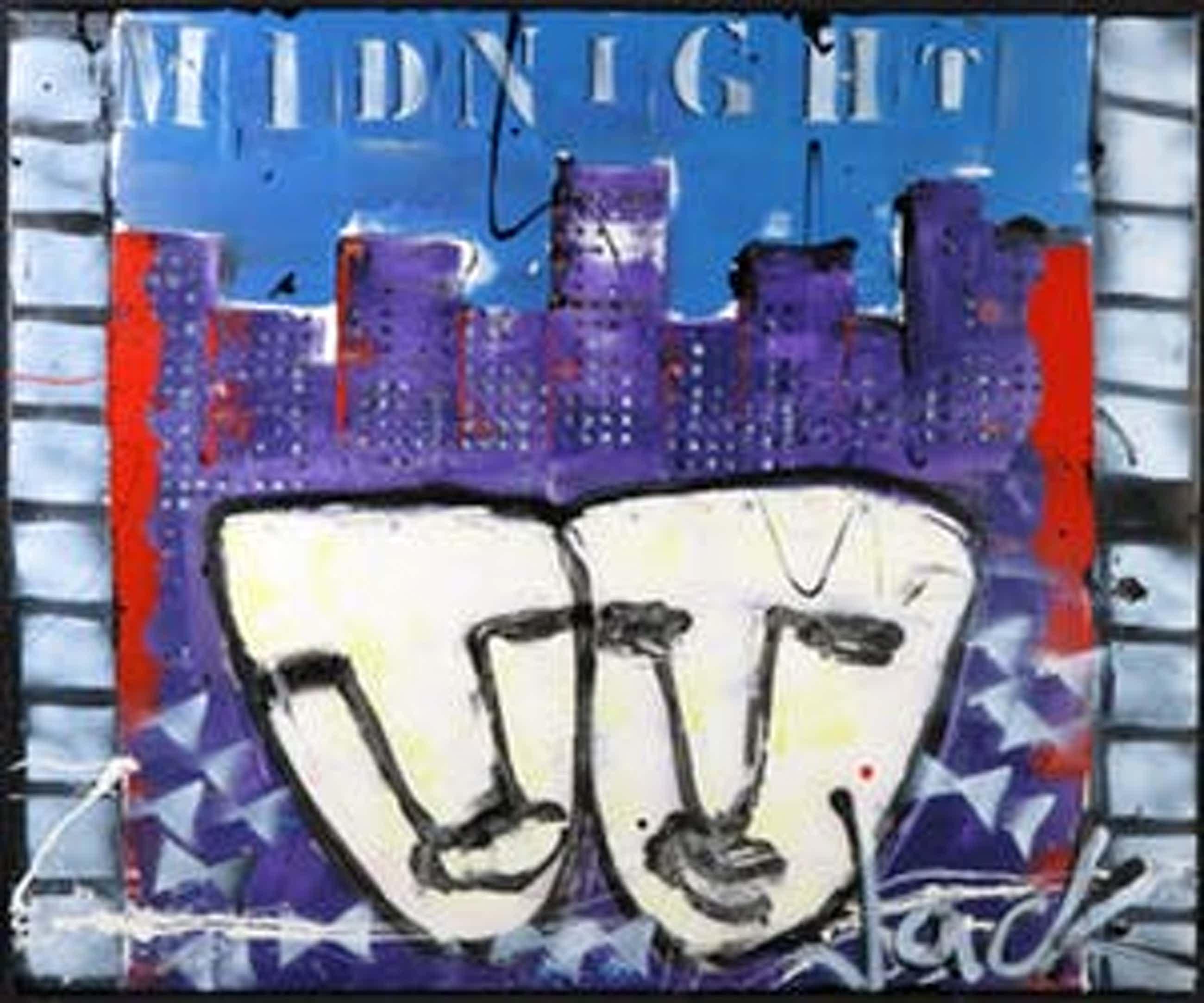 Jack Liemburg - Gemengde techniek op doek, Midnight (Groot) kopen? Bied vanaf 160!