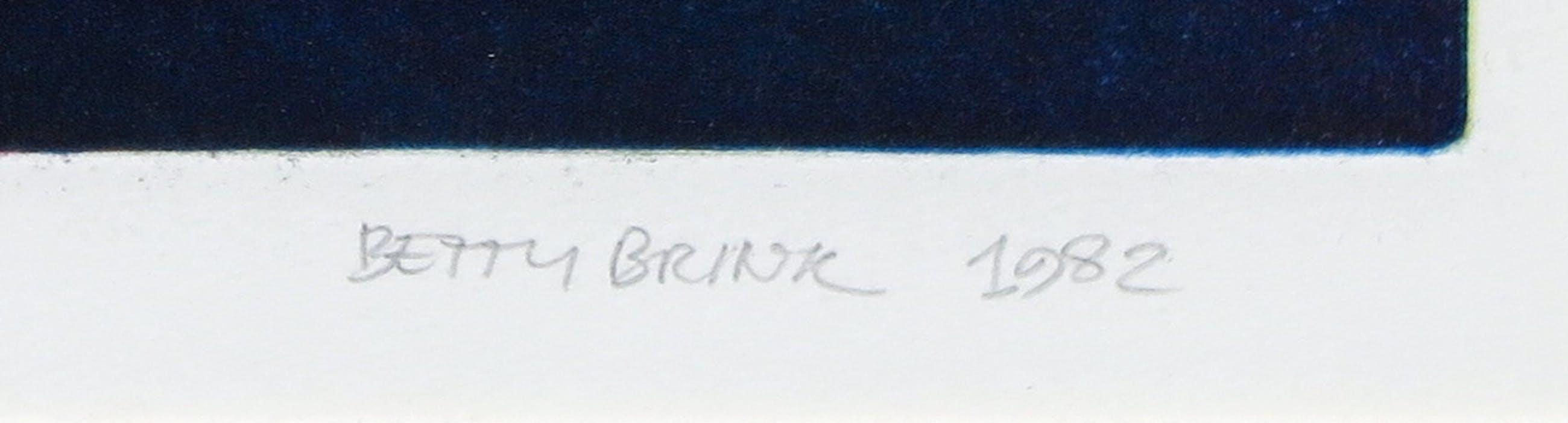 Betty Brink - Ets en aquatint, Zonder titel - Ingelijst kopen? Bied vanaf 35!