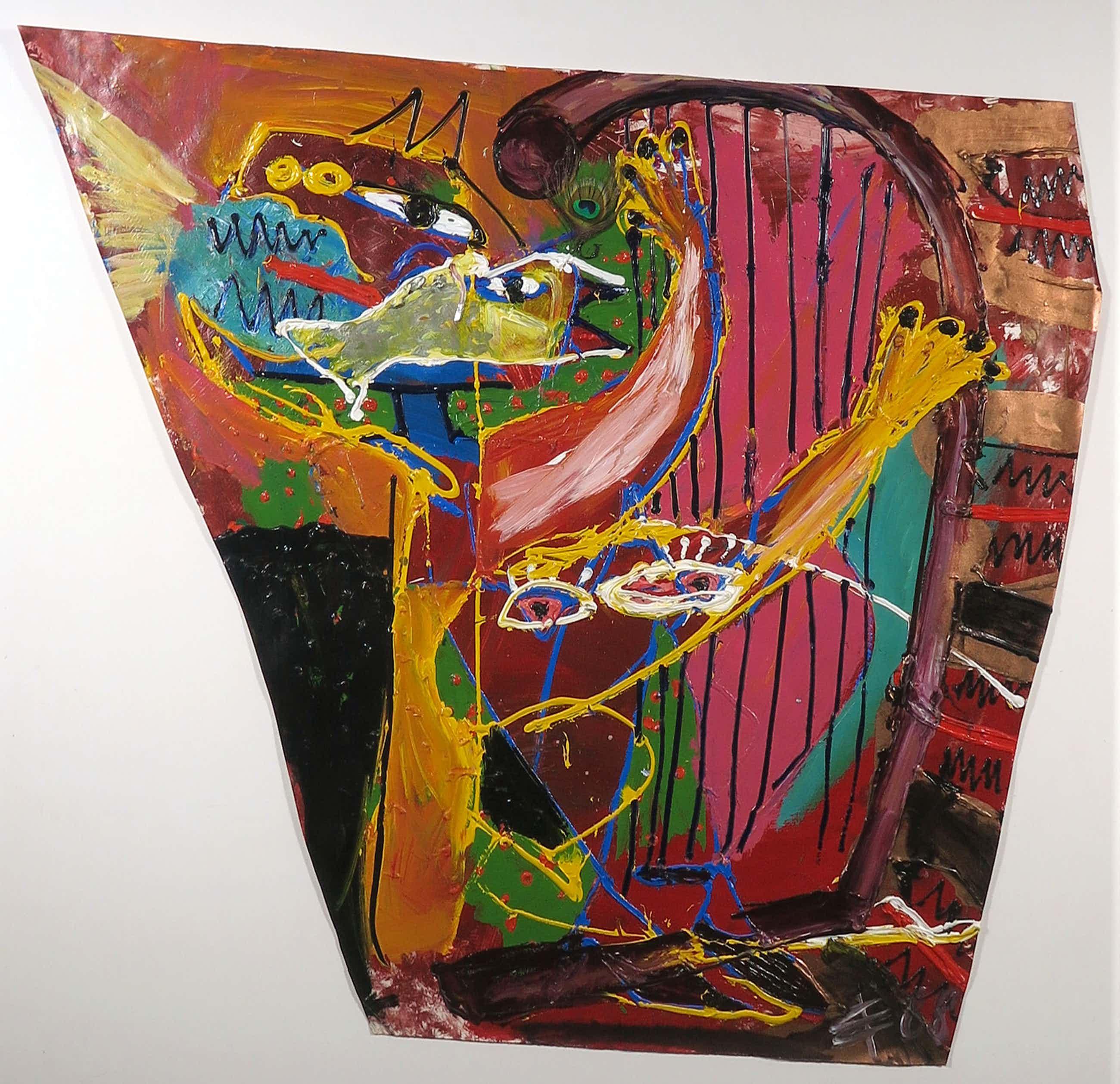 Albert Niemeyer - Acryl op papier, Musical - Ingelijst (Groot) kopen? Bied vanaf 400!