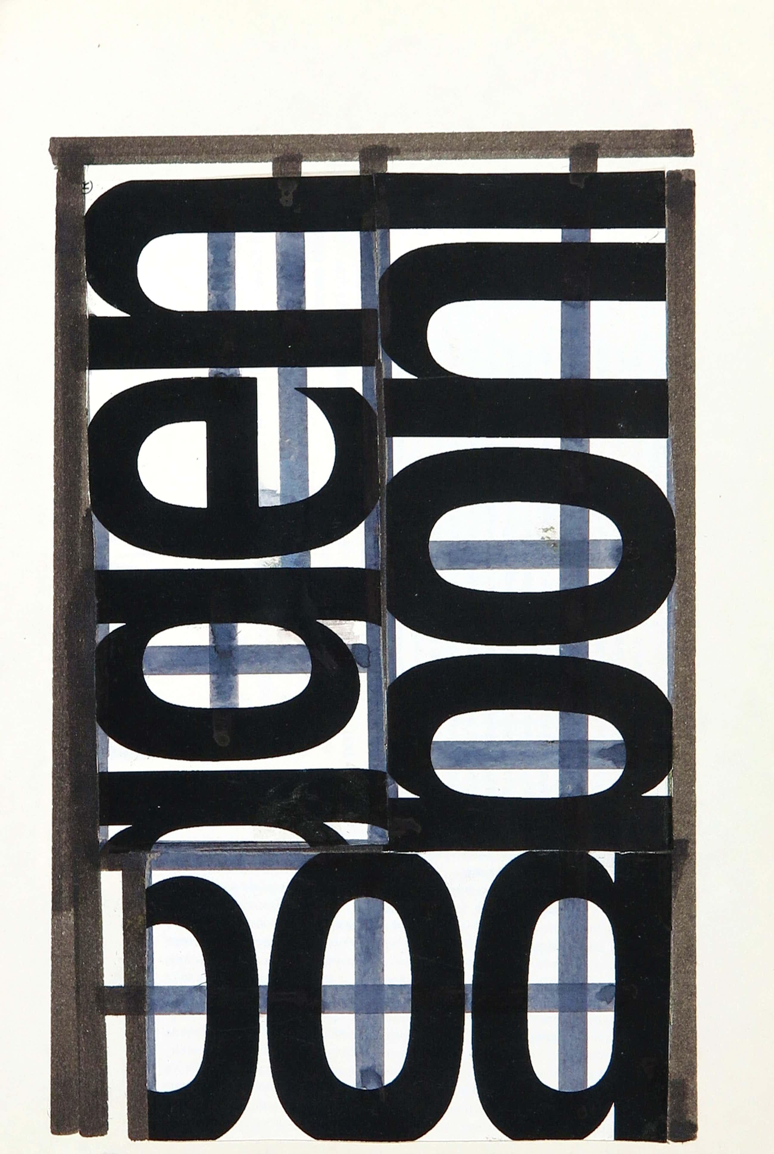 Siep van den Berg - Collage, Abstracte compositie kopen? Bied vanaf 52!