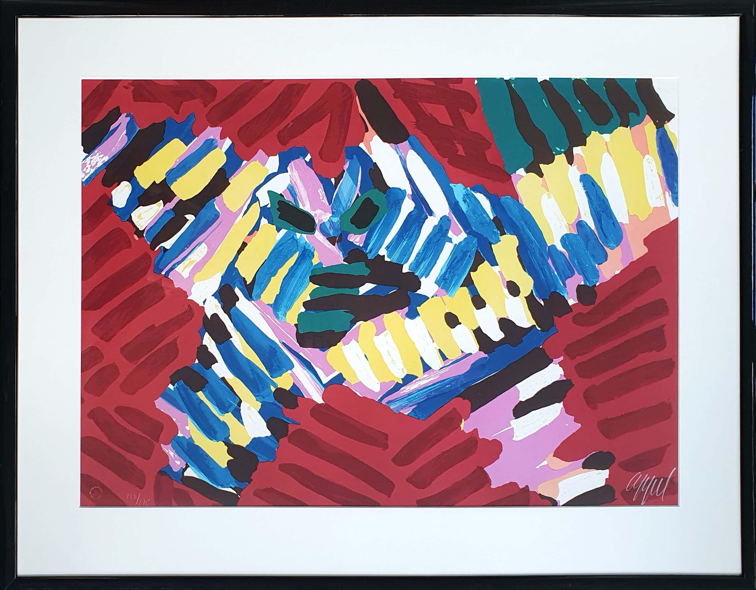 Karel Appel - 'Flying owl' (1978) kopen? Bied vanaf 585!
