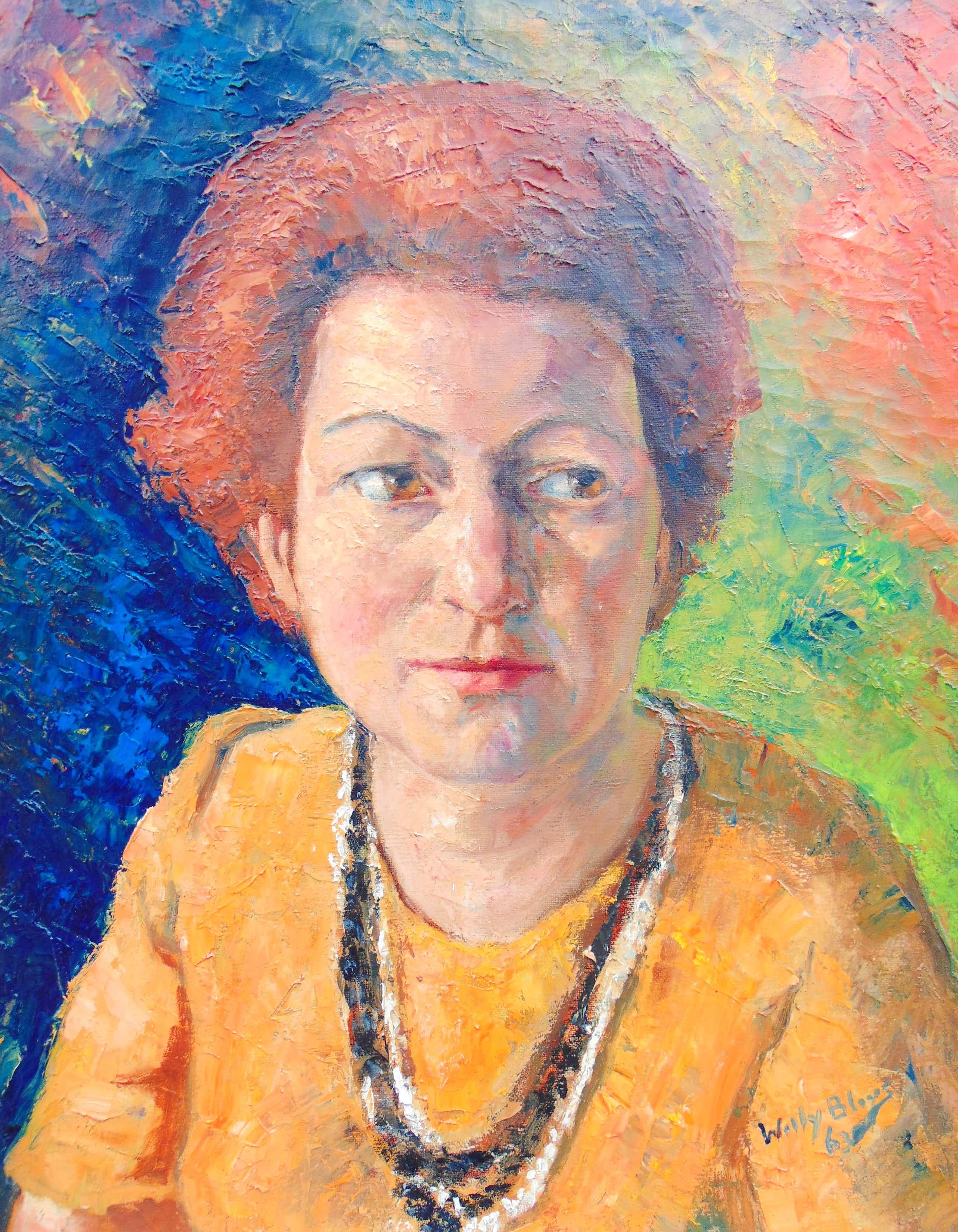 Willy Bleys - Portret kopen? Bied vanaf 75!