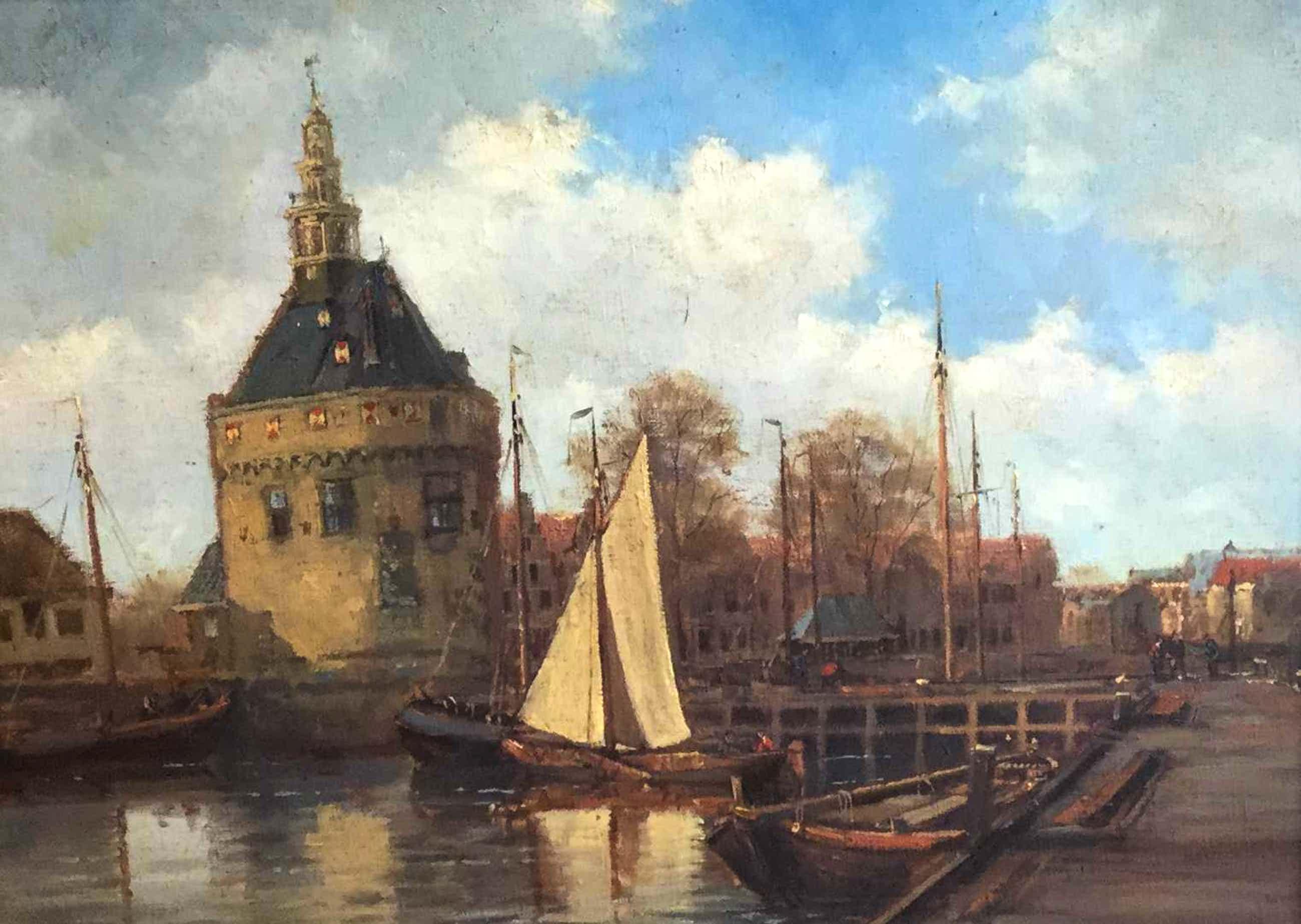 Frits Goosen - C3672, Haven van Hoorn kopen? Bied vanaf 280!