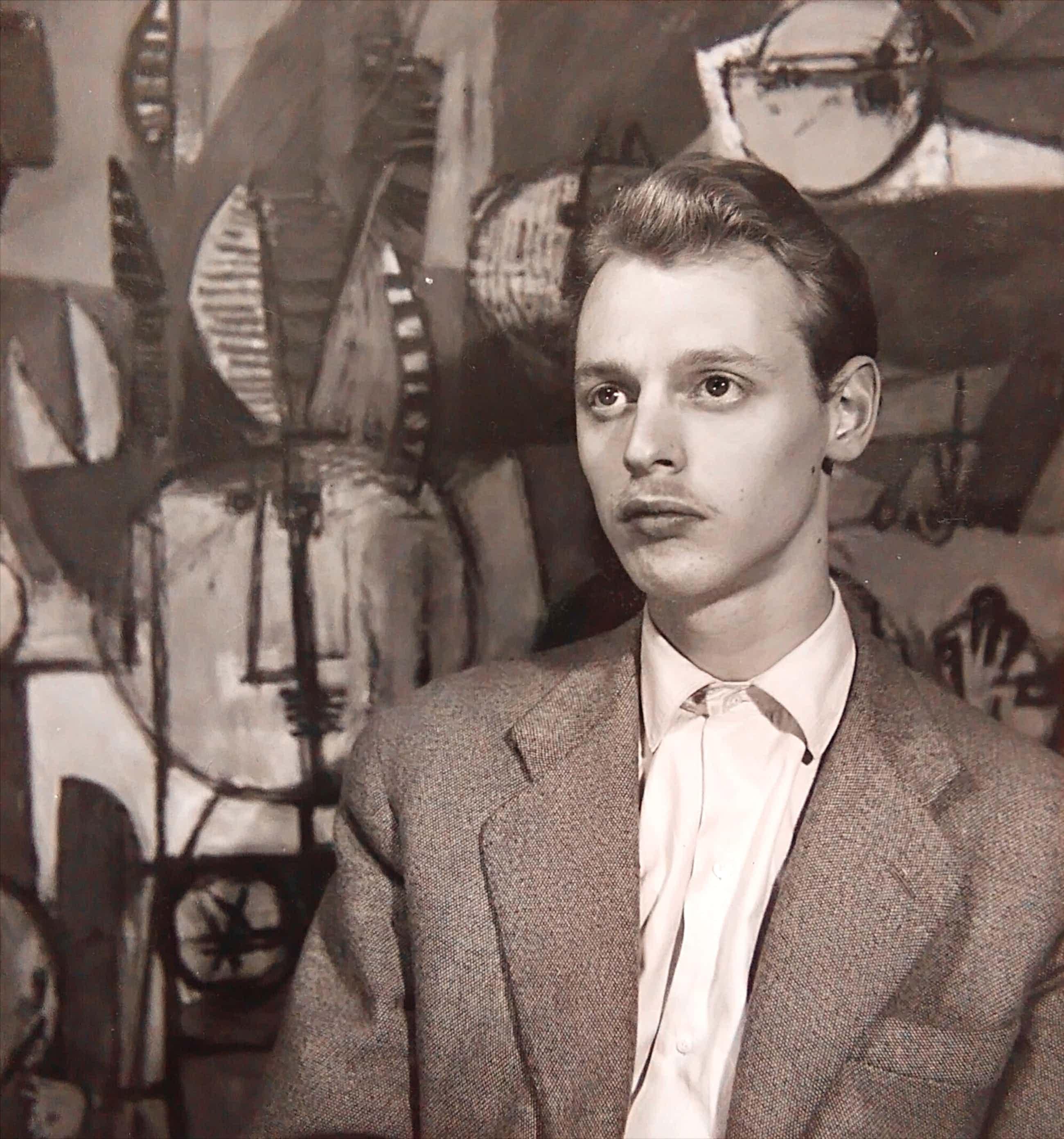 Henny Riemens - Portretfoto Simon Vinkenoog 1951-54 kopen? Bied vanaf 40!