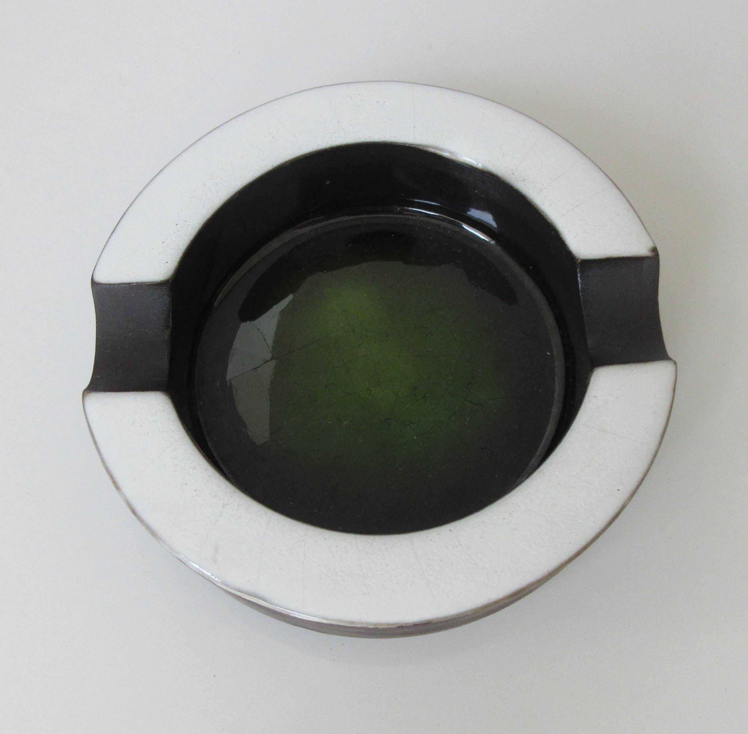 Potterie Ravelli - Asbak met craquele glazuur kopen? Bied vanaf 1!
