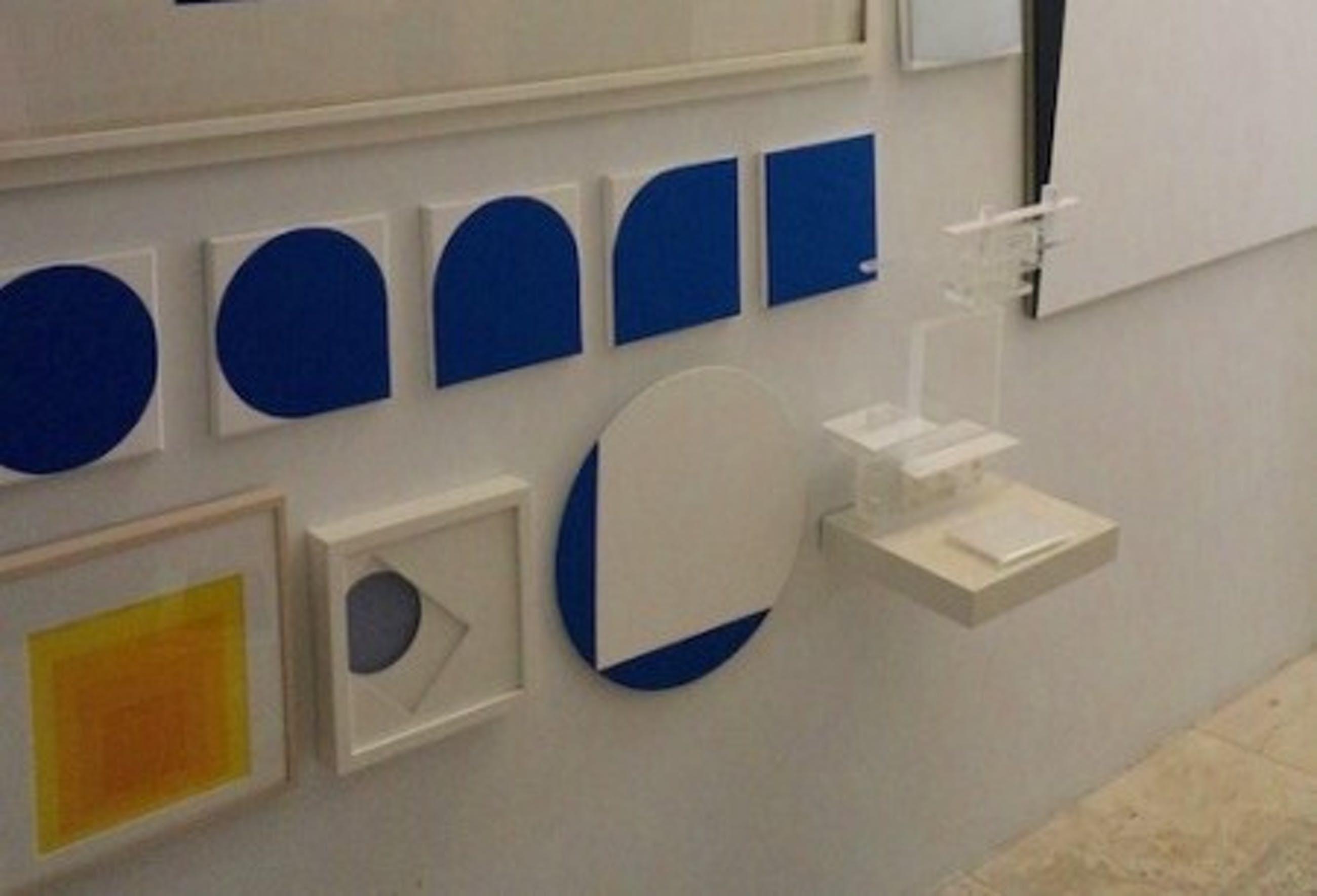 Frans Vendel - geometrisch schilderij - 2011 kopen? Bied vanaf 295!