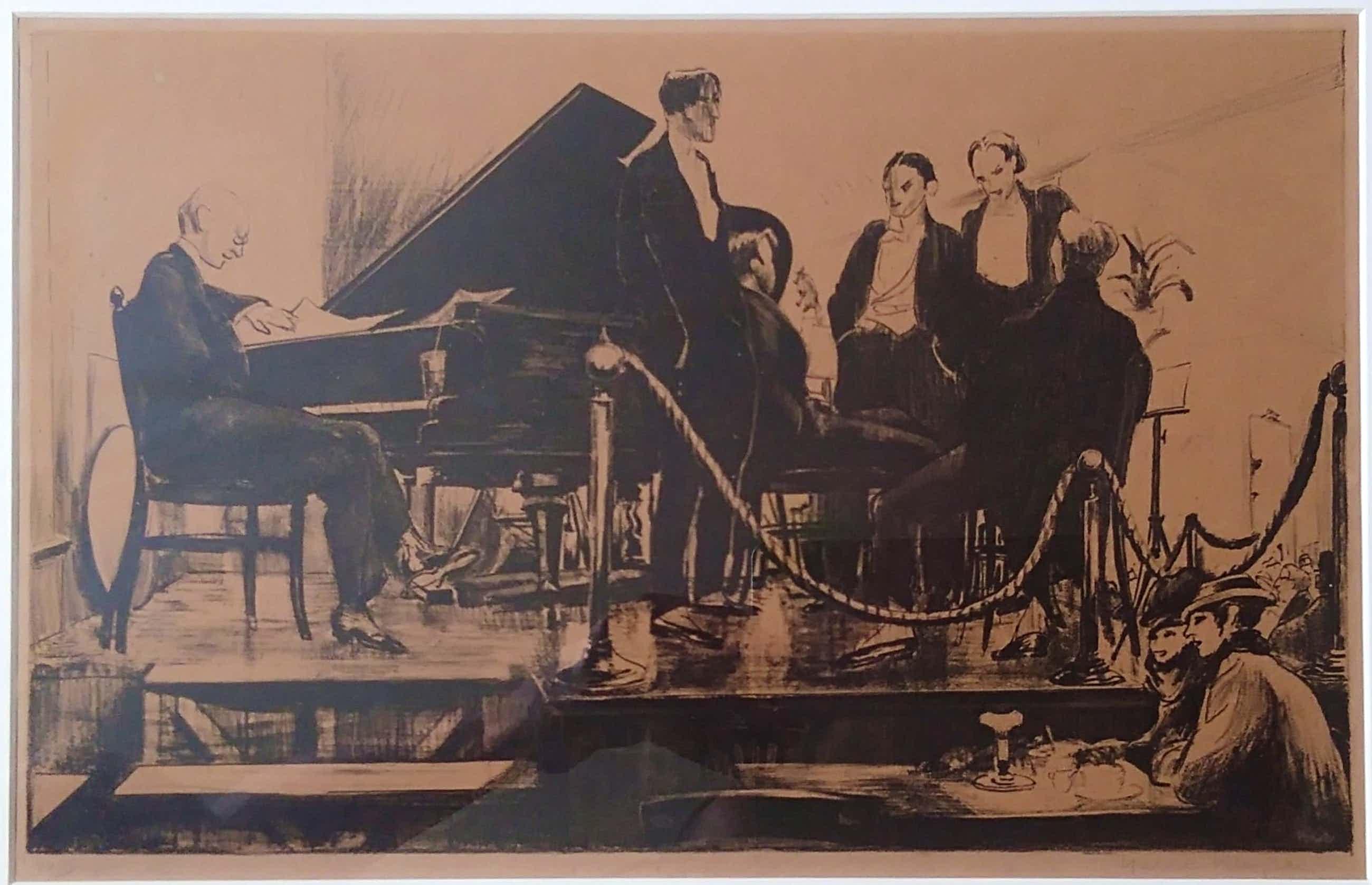 Harrie Kuyten - Orkestgezelschap uit de jaren 20 van de vorige eeuw. kopen? Bied vanaf 75!