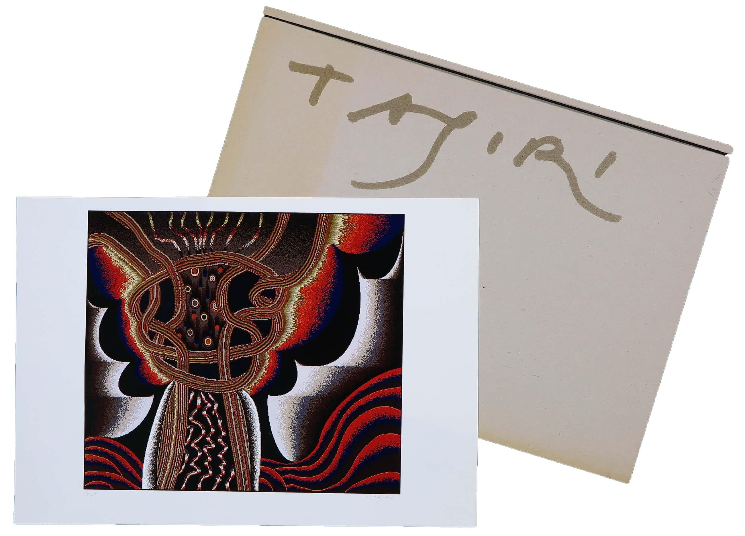 Shinkichi Tajiri - Abstracte computertekening kopen? Bied vanaf 100!