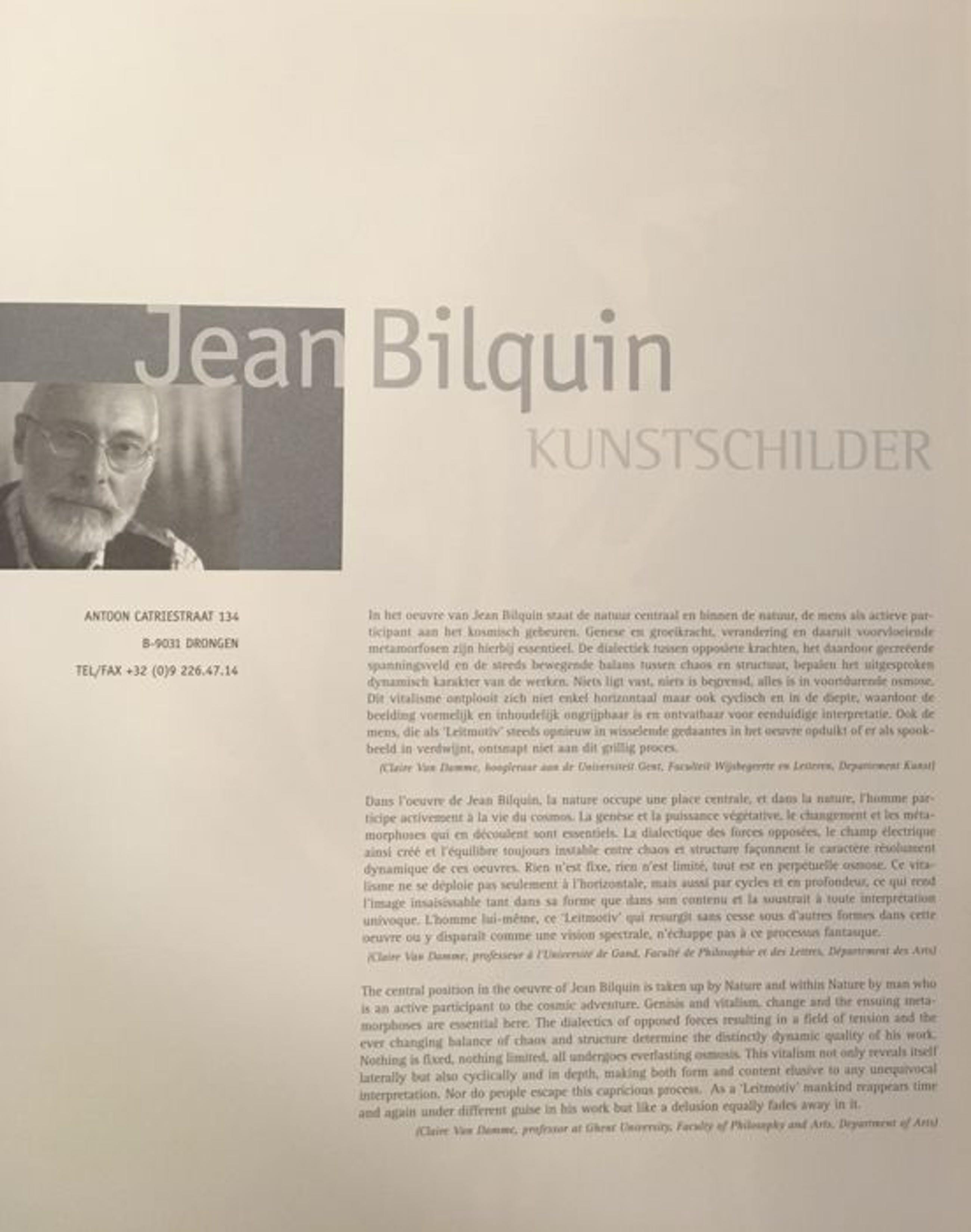 Jean Bilquin - geen titel kopen? Bied vanaf 75!