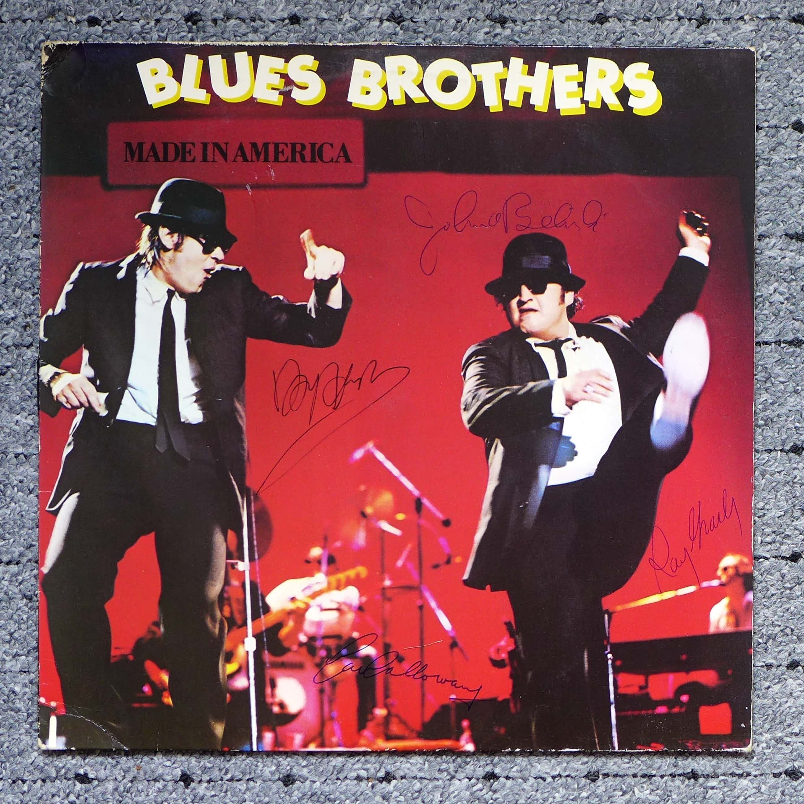 Ray Charles - Blues Brothers, LP signiert Dan Akroyd, John Belushi, Cab Calloway, Ray Charles kopen? Bied vanaf 149!