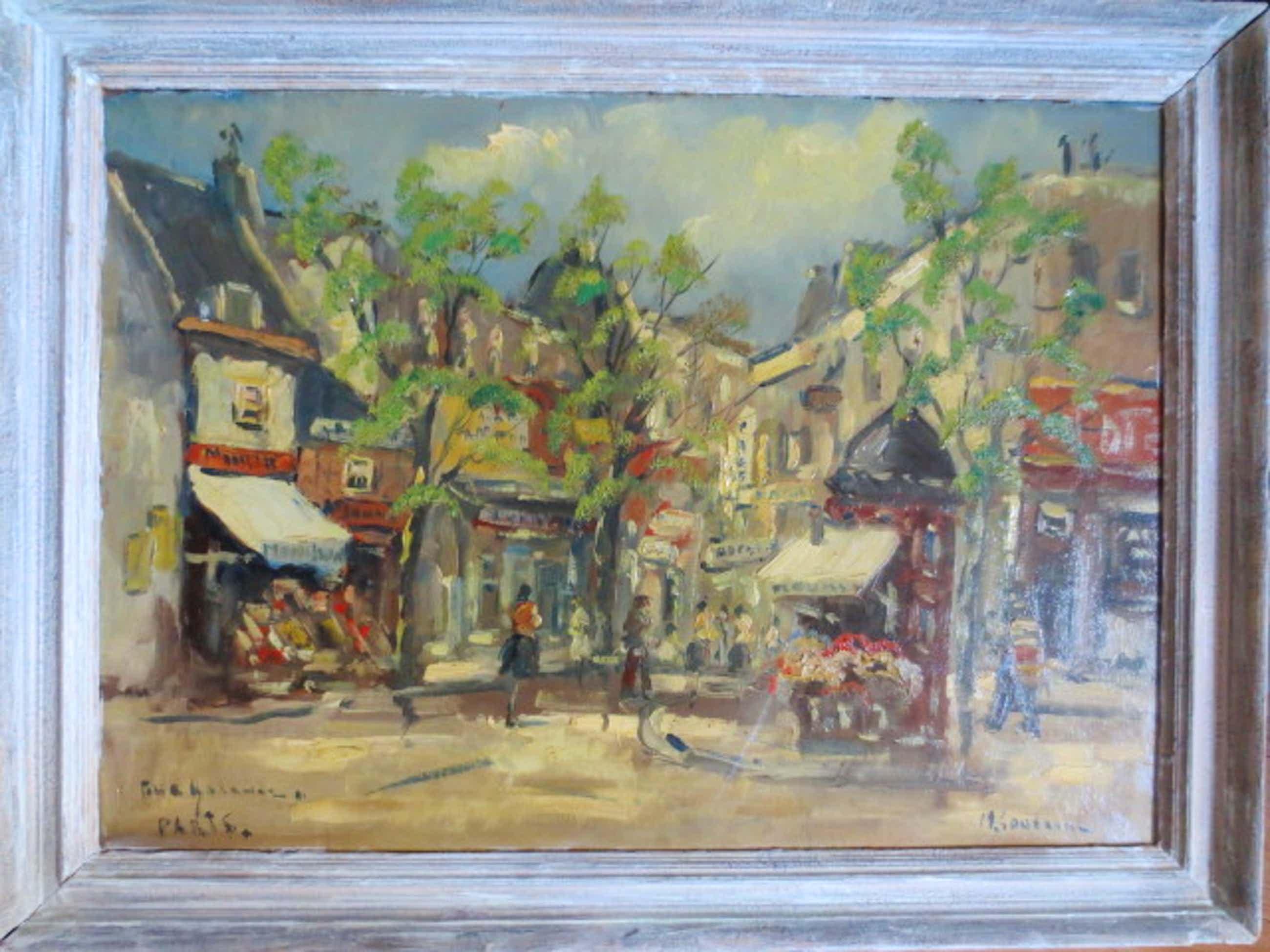 Michel Soutine - Paris Rue Galande kopen? Bied vanaf 100!