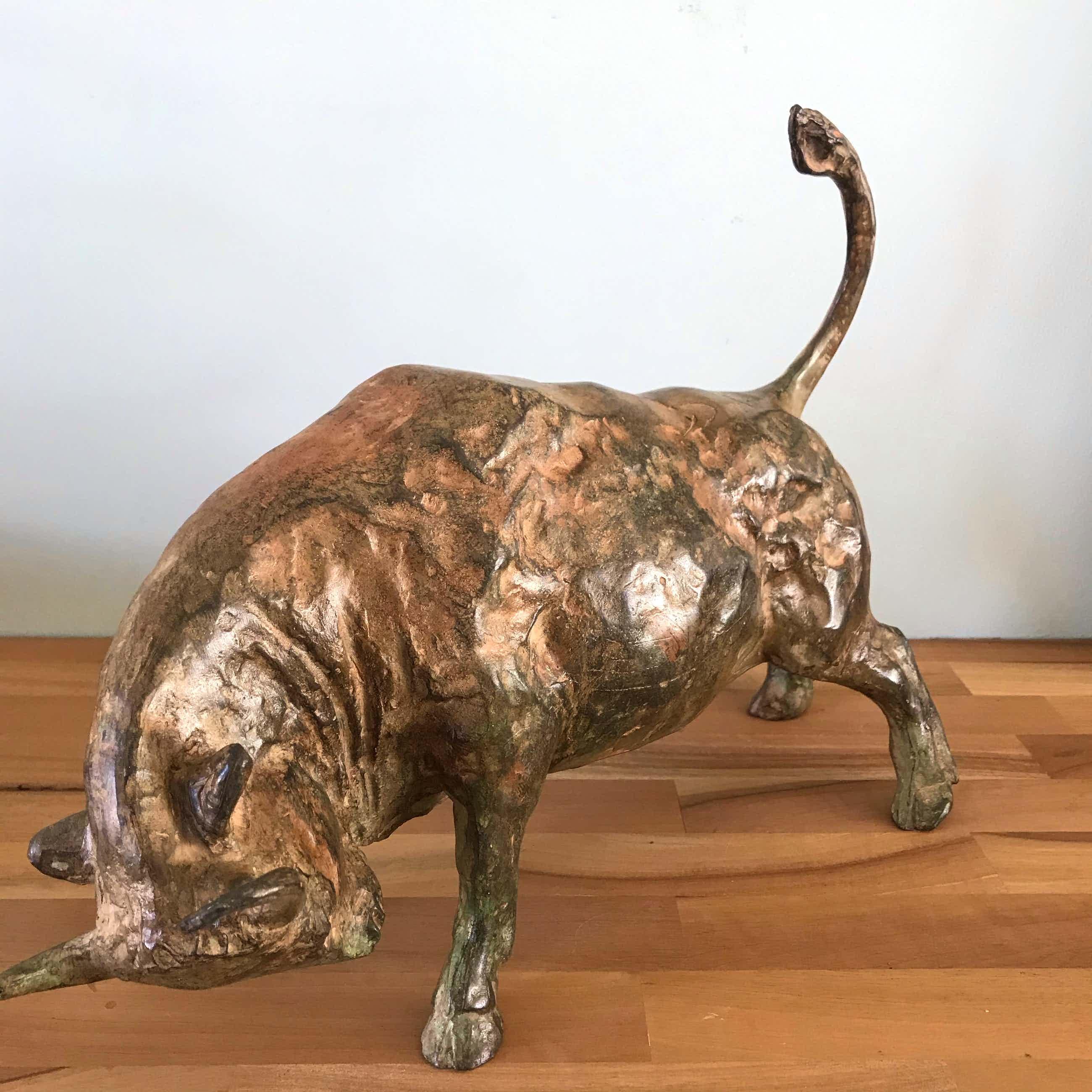 Pierre Chenet - Mooi bronzen beeld - Fonderie Pierre Chenet - Stier (Bull) kopen? Bied vanaf 625!