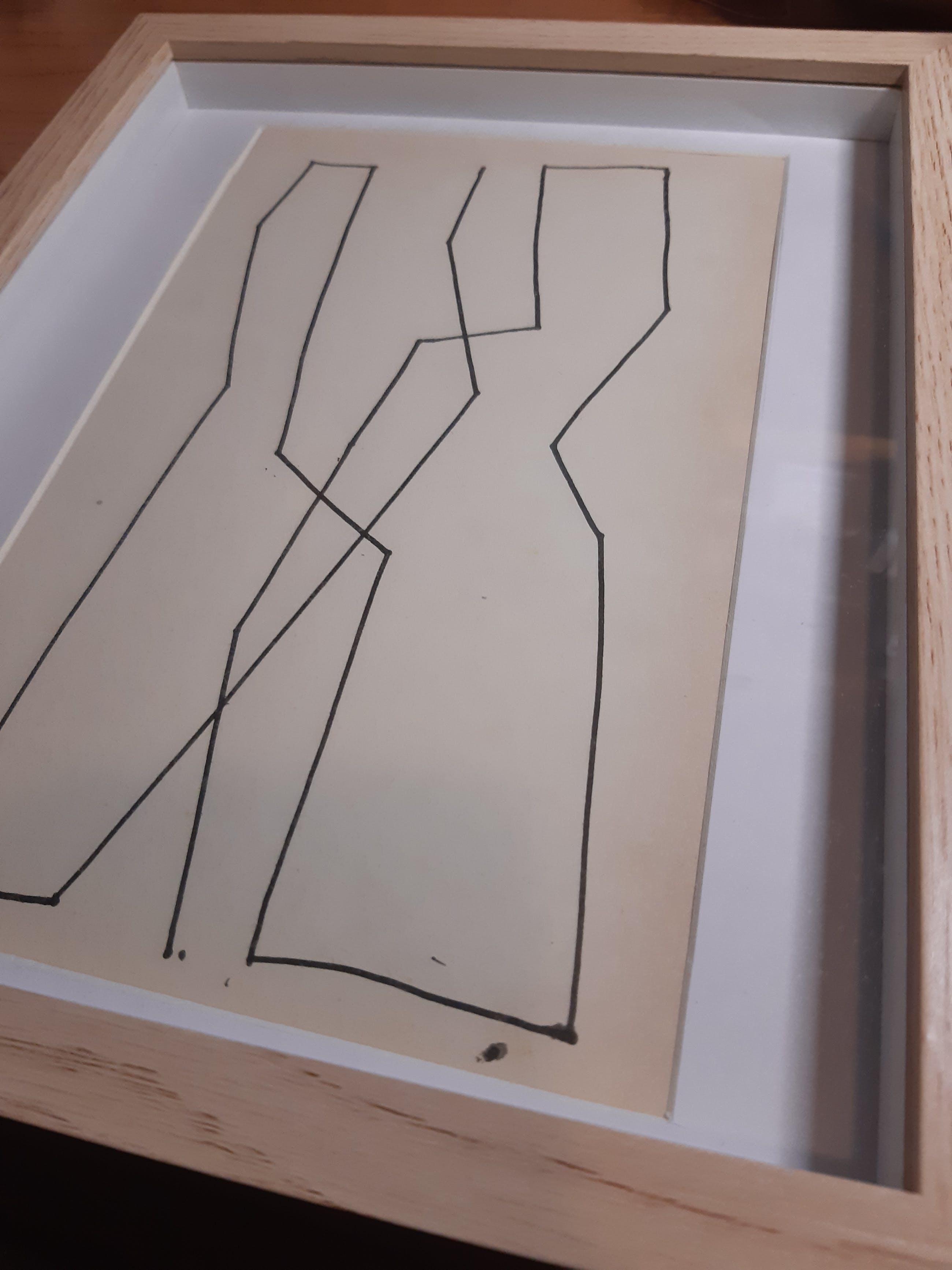 Siep van den Berg - Abstracte compositie kopen? Bied vanaf 1!