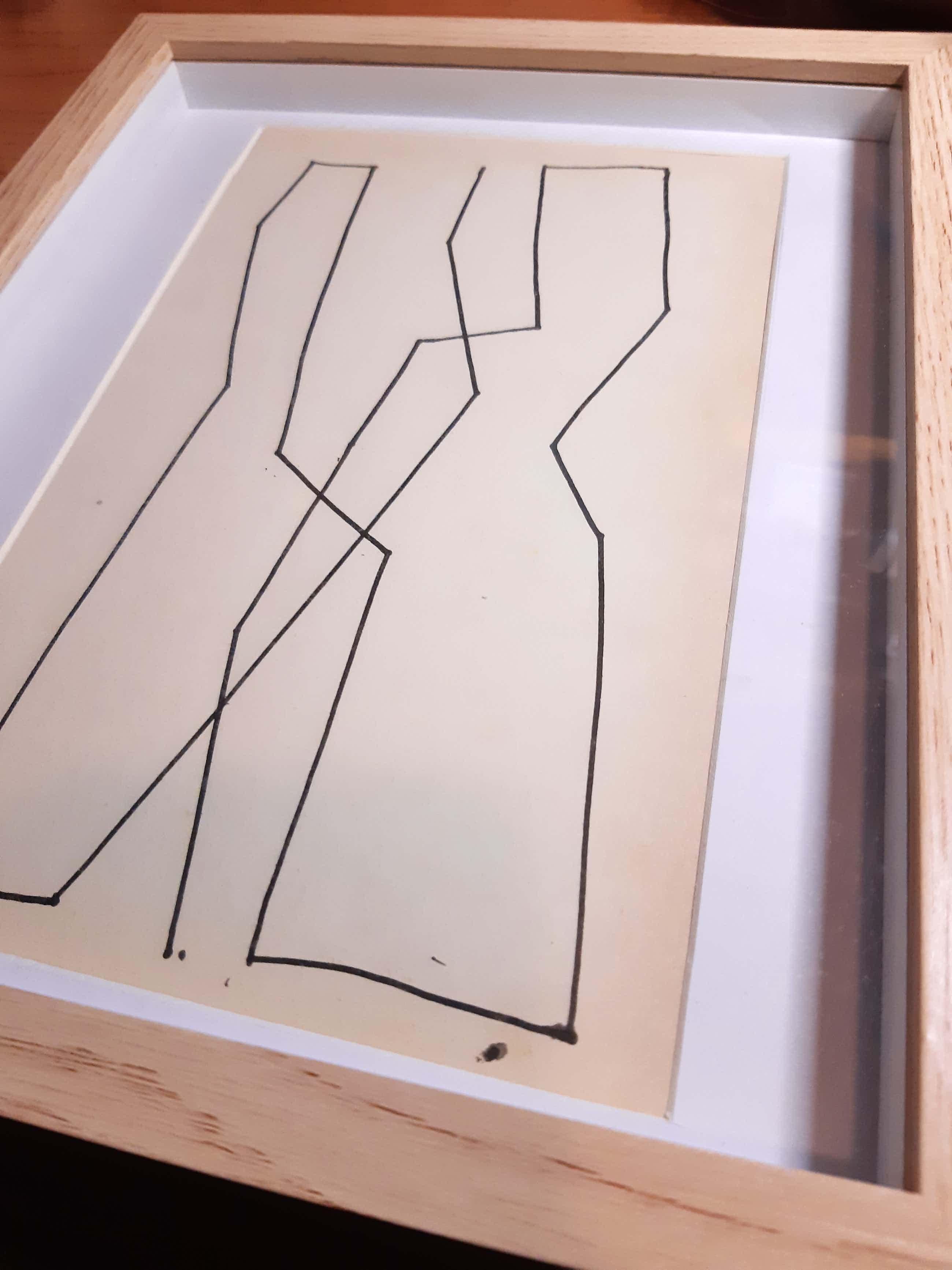Siep van den Berg - Abstracte compositie kopen? Bied vanaf 60!
