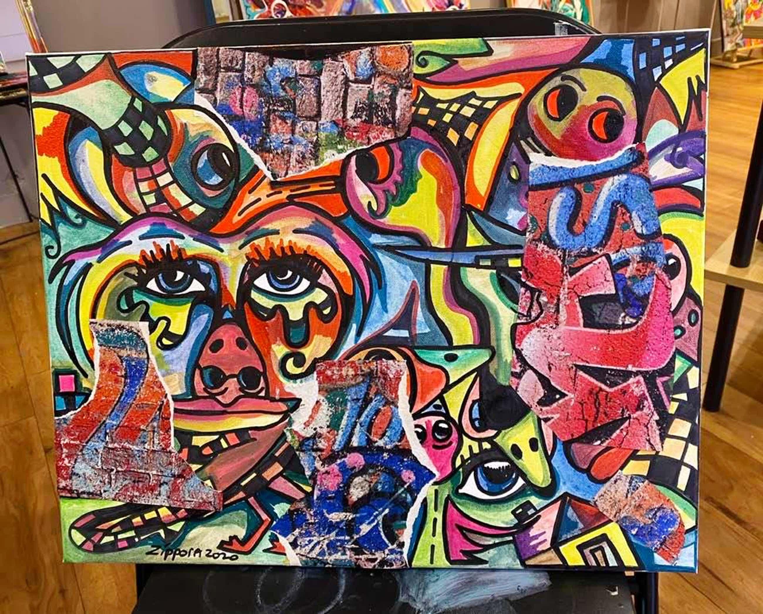 Zippora Sahanaja - Zippora Meijer----Wall Of Happiness 1 en 2 kopen? Bied vanaf 50!