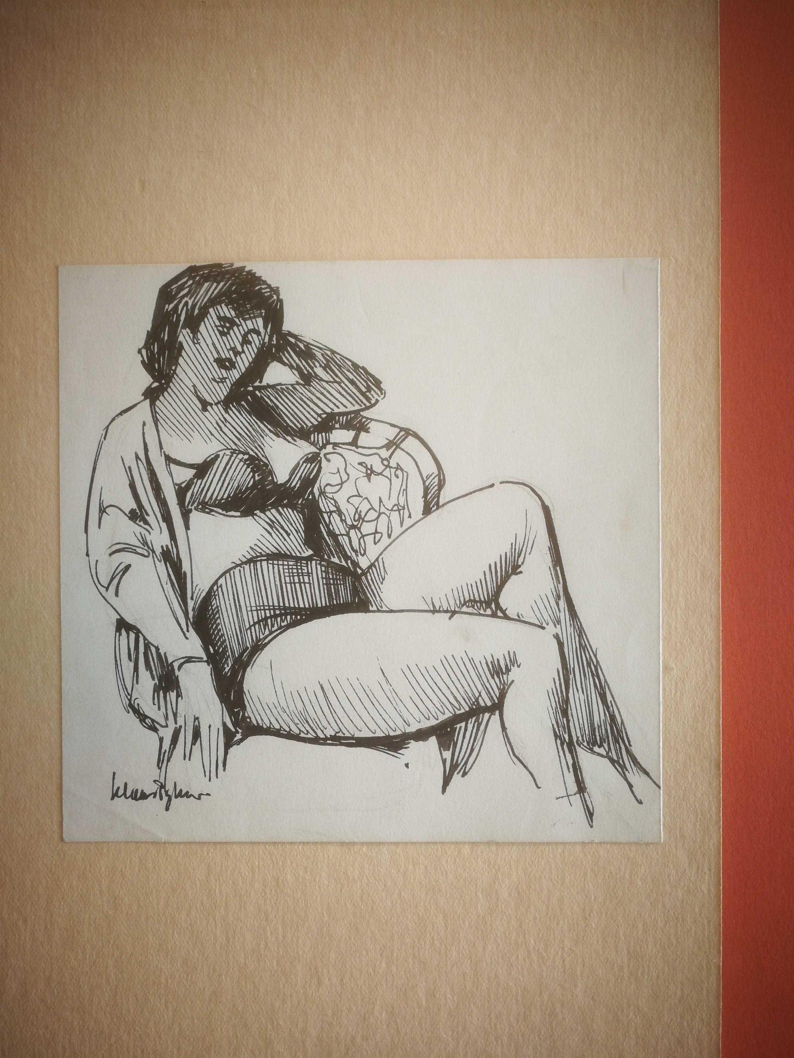 Klaas Pijlman - 15 werken. Portretten en naakten. kopen? Bied vanaf 99!