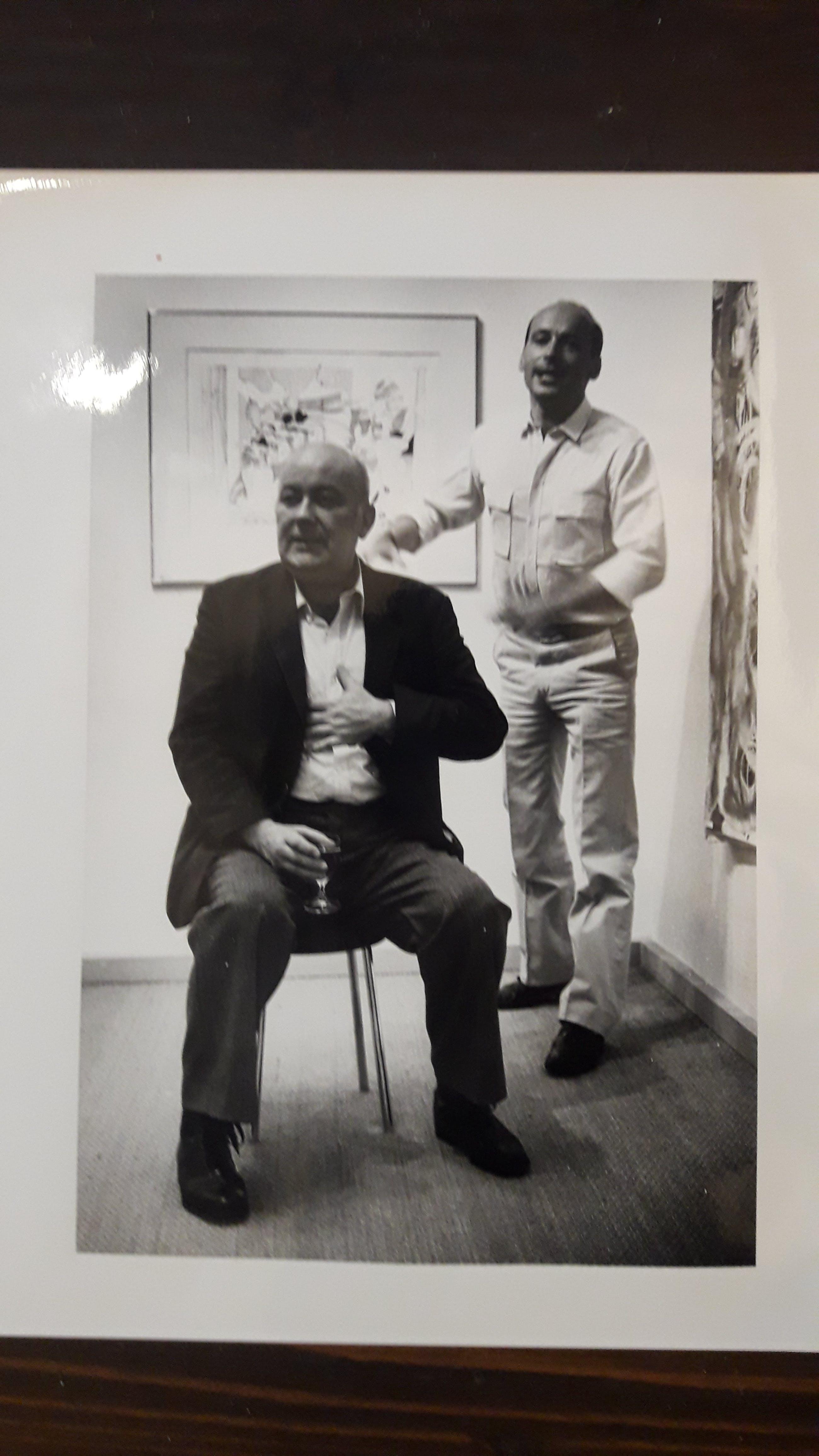 Dieter Roth - Persfoto Dieter Roth - Galerie Klewan kopen? Bied vanaf 1!