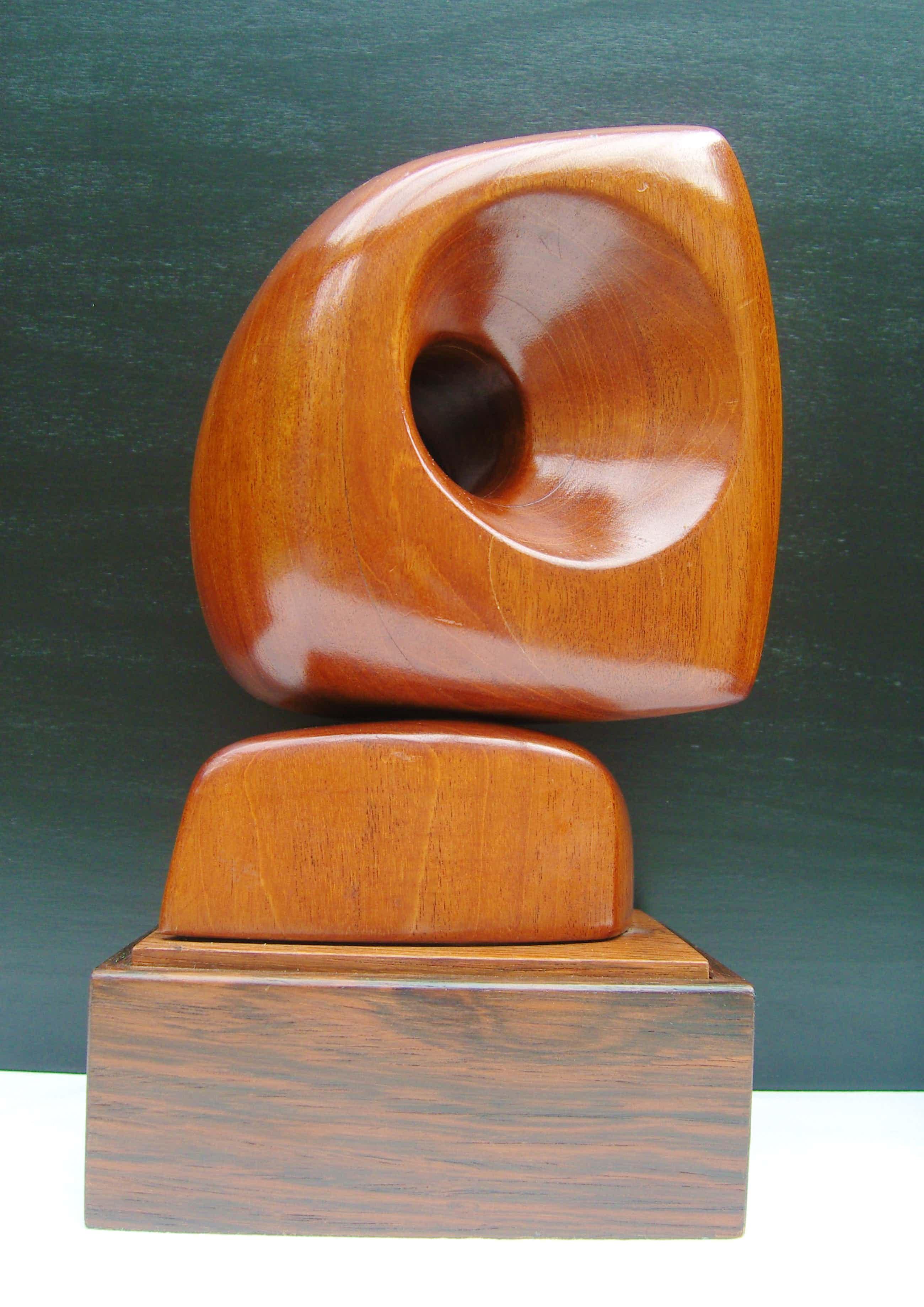 Dolf Breetvelt - Abstracte sculptuur in hout kopen? Bied vanaf 825!