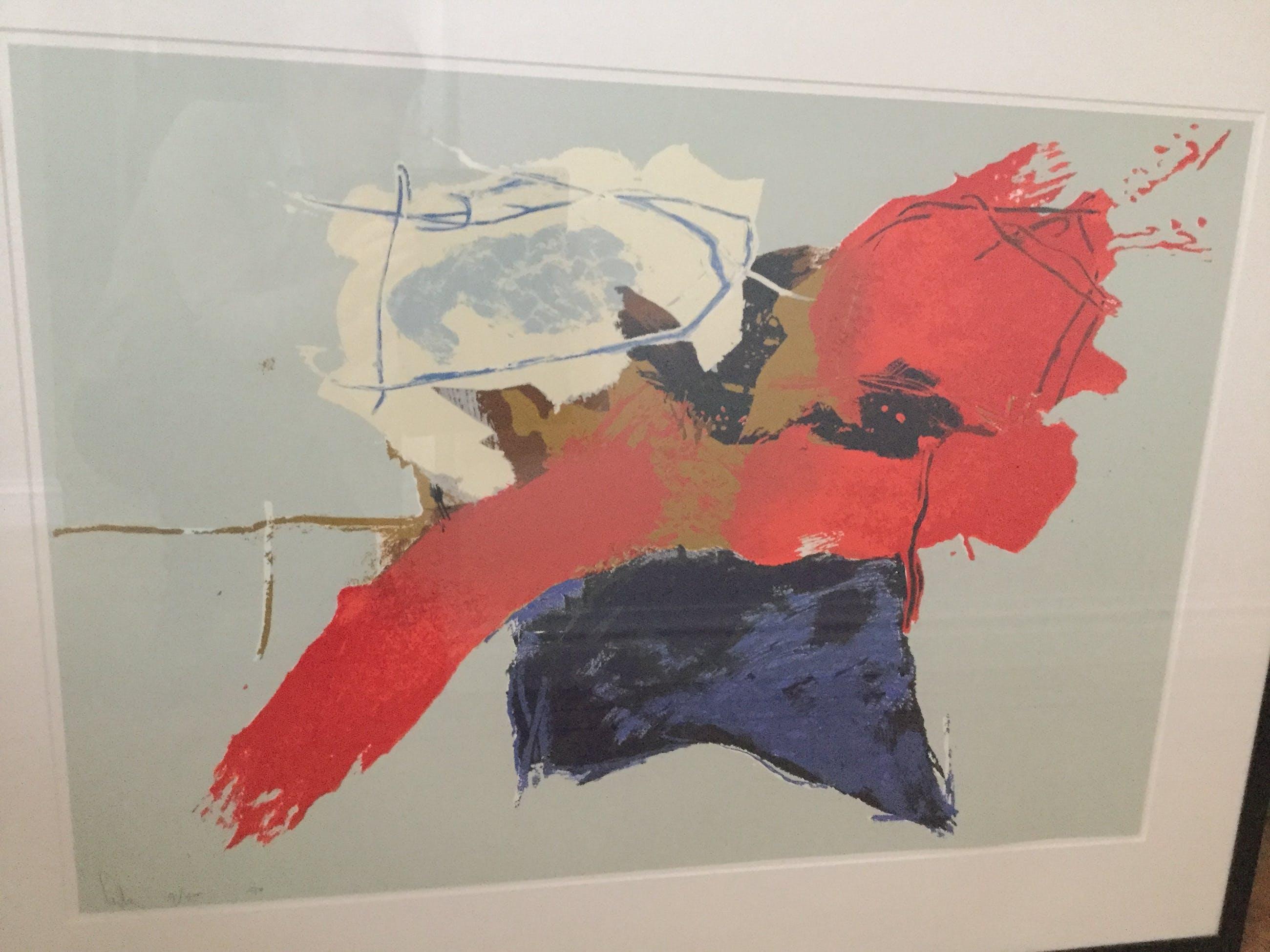 Arty Grimm - Compositie op blauw kopen? Bied vanaf 95!