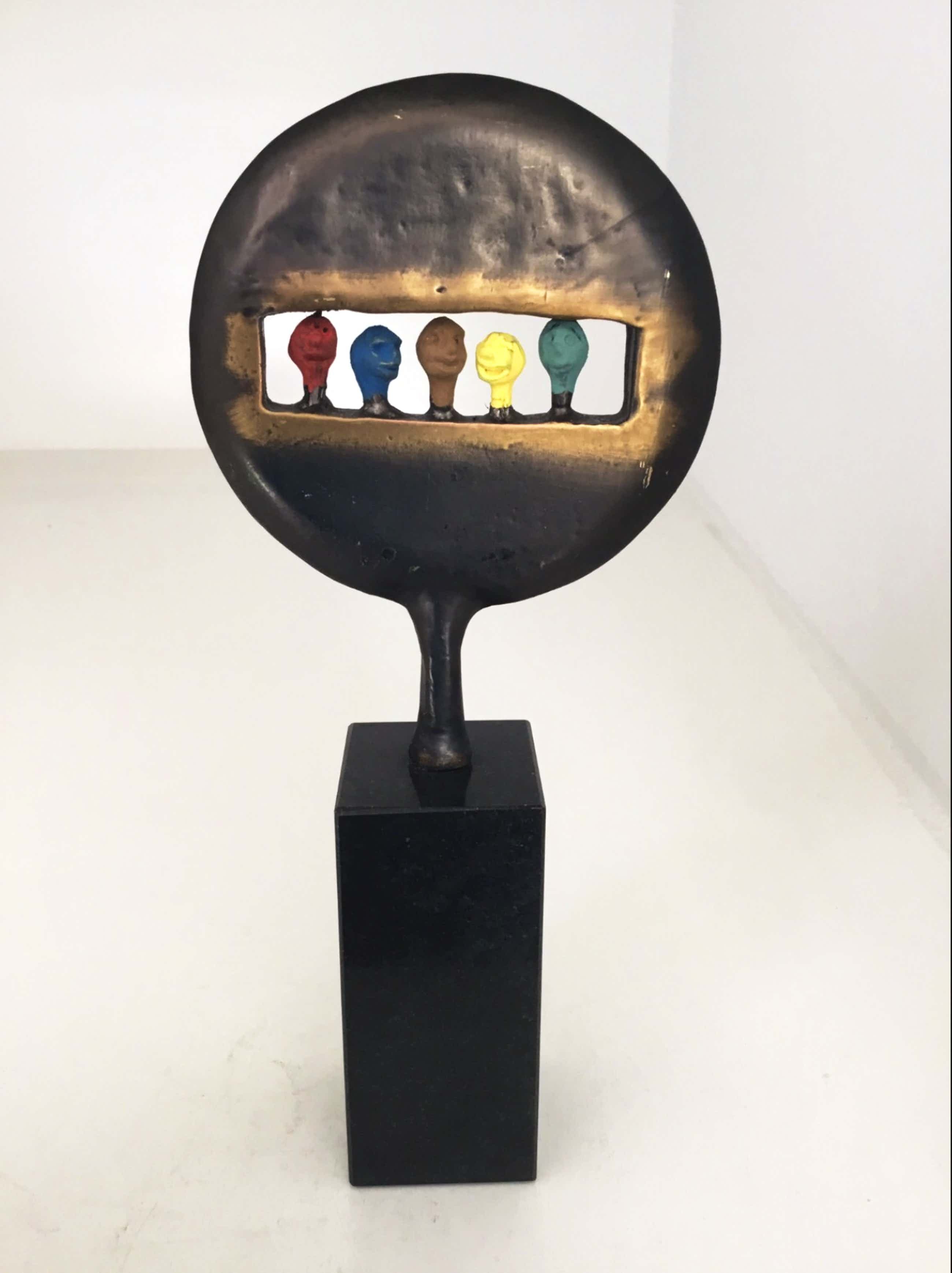 """Corry Ammerlaan - Sculptuur """" Kijk in de toekomst ! """" kopen? Bied vanaf 60!"""