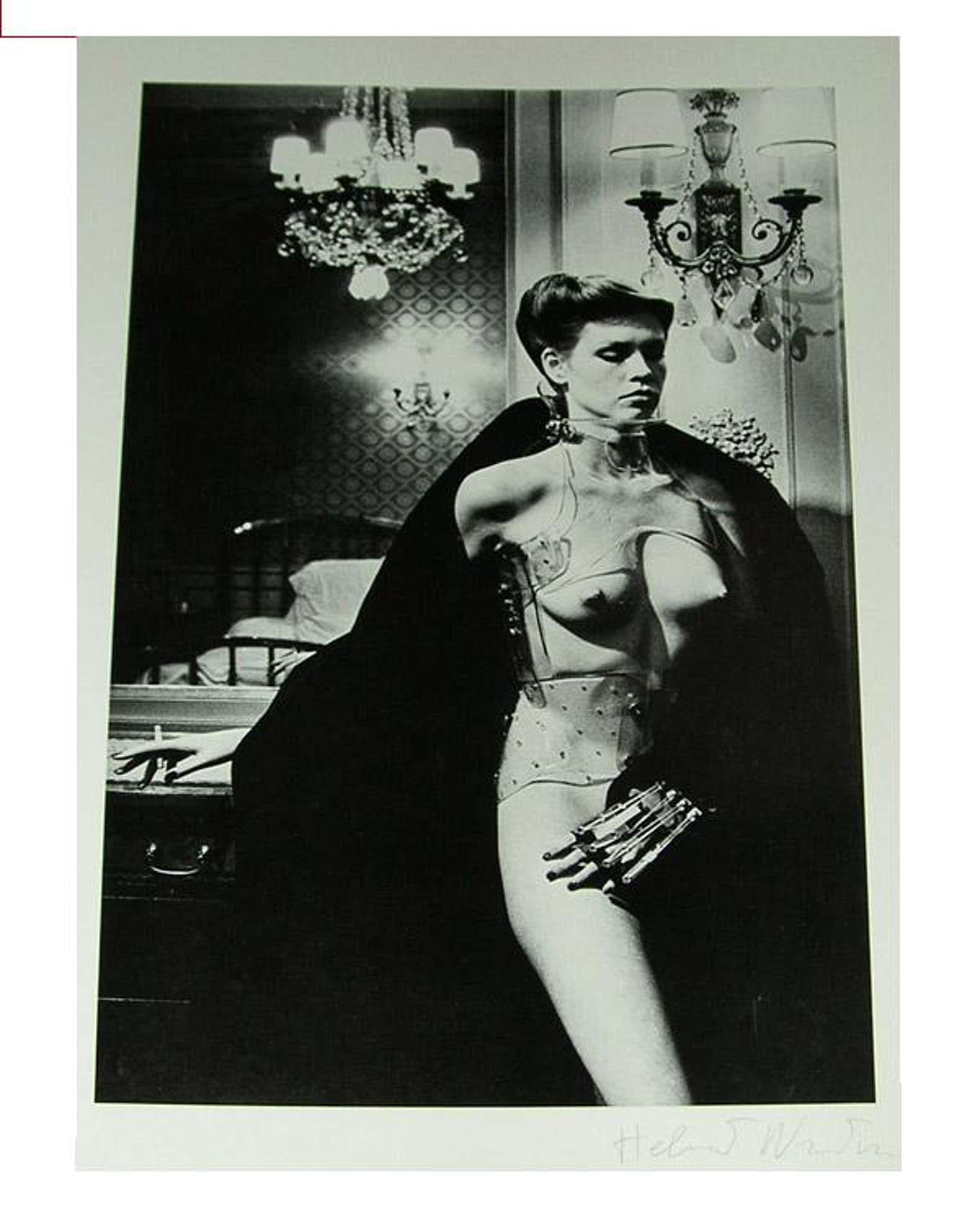 Helmut Newton - Jane Kirby. Handsigniert. Vintage. kopen? Bied vanaf 380!