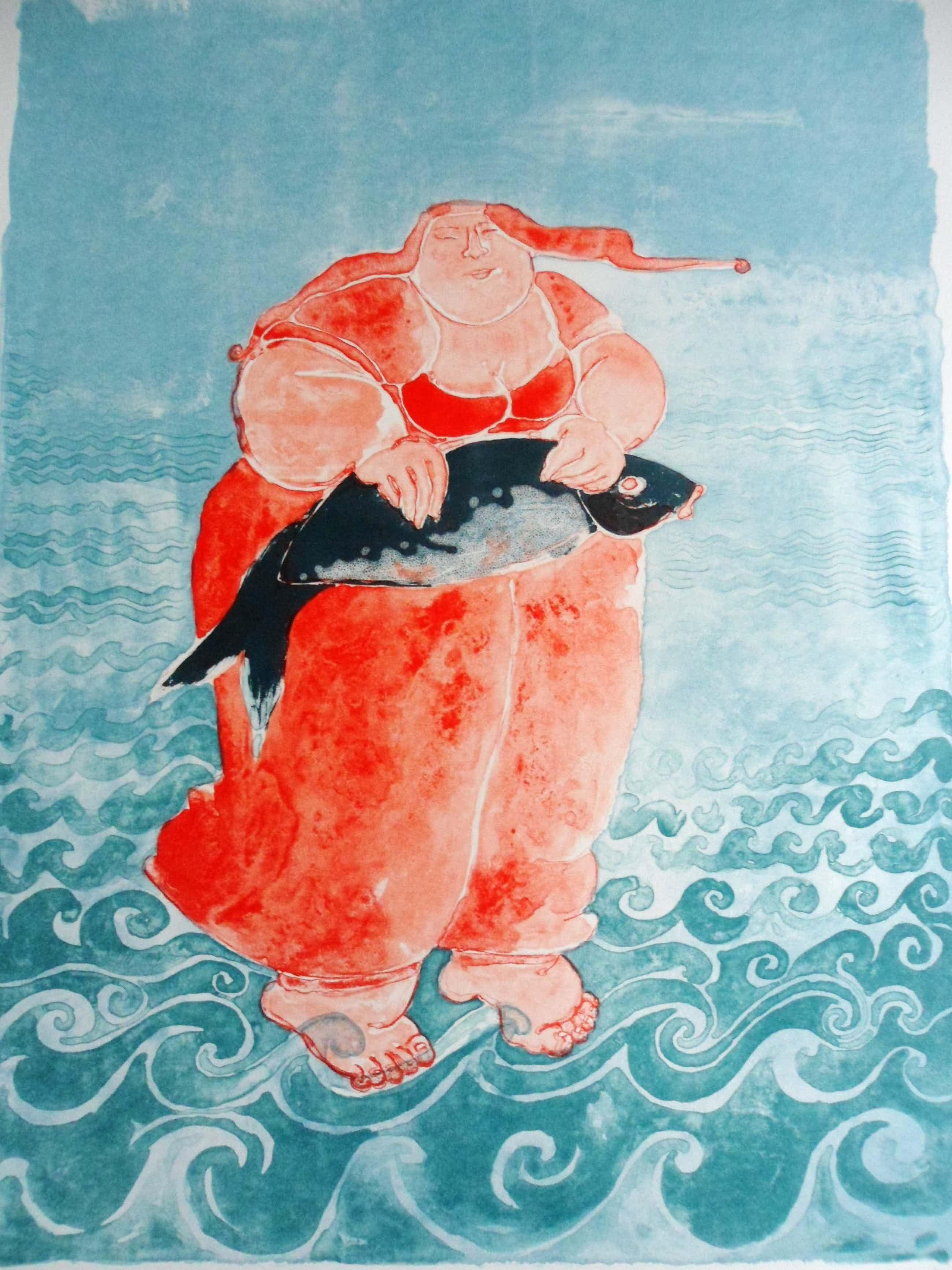 Ada Breedveld - Litho, Titel, Sea Woman kopen? Bied vanaf 50!