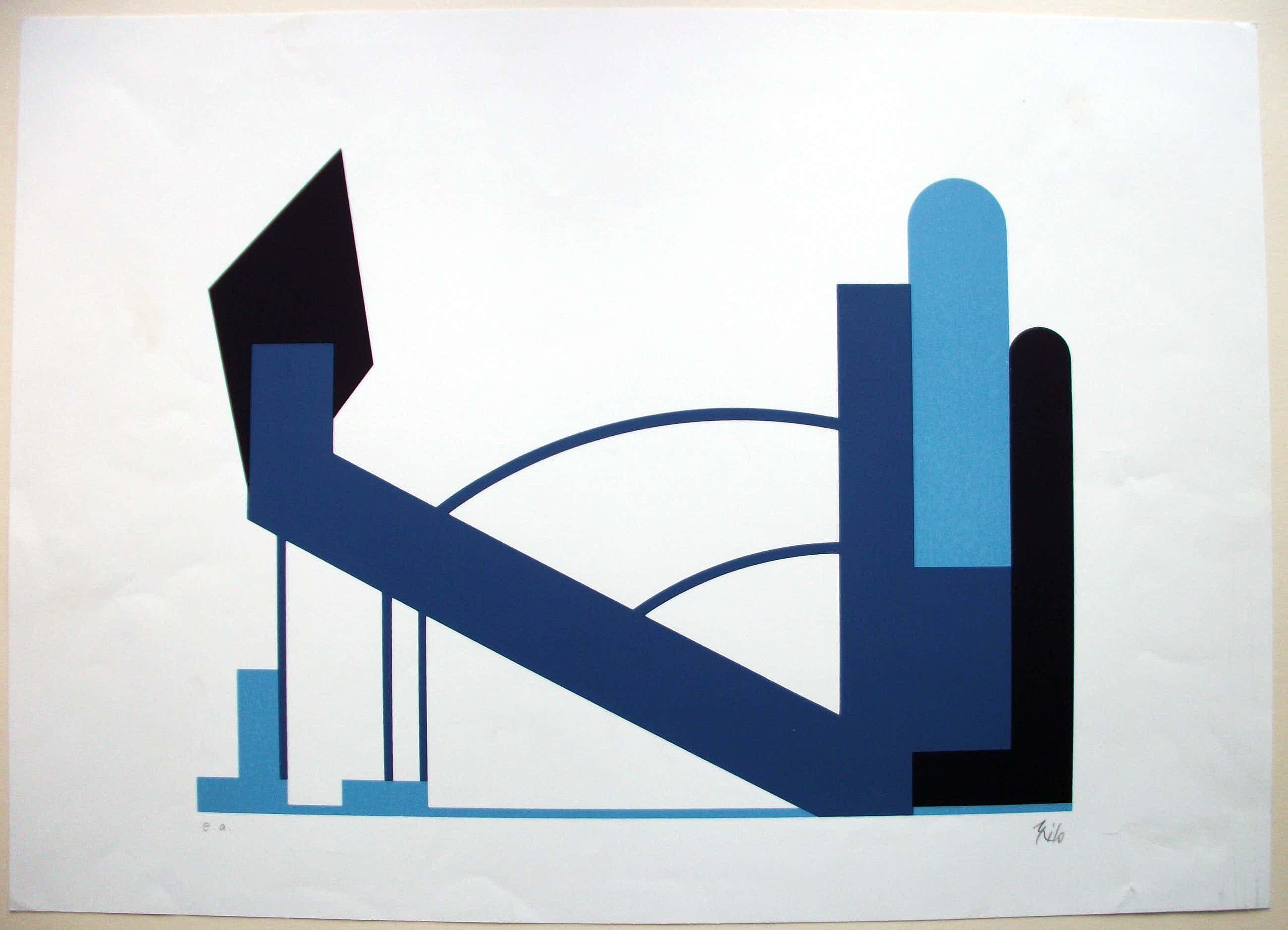 Thilo Maatsch - o.t. Farbserigrafie u.r. signiert: Thilo kopen? Bied vanaf 145!
