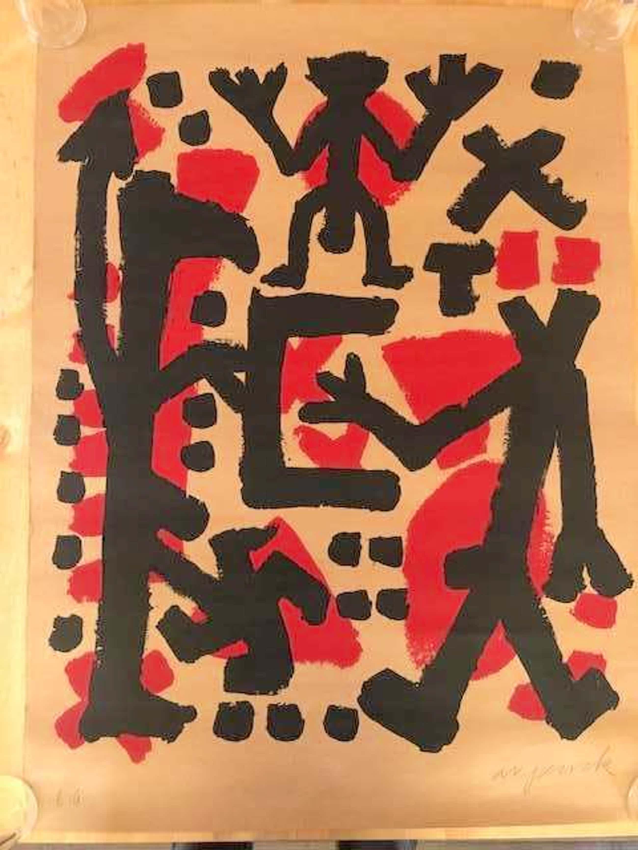 A.R. Penck - Untitled kopen? Bied vanaf 650!