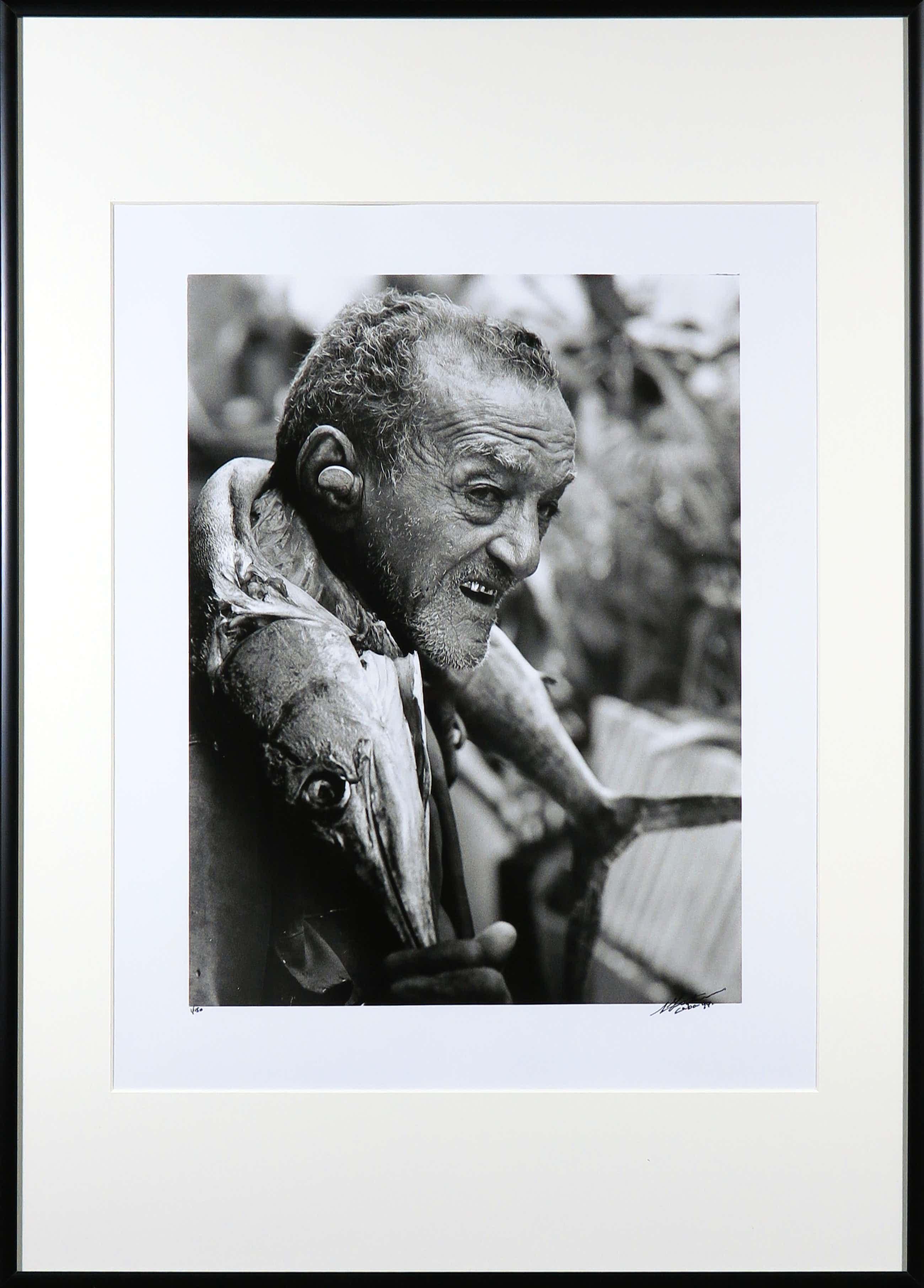 Nico Koster - Foto, Cubaanse visser - Ingelijst kopen? Bied vanaf 60!