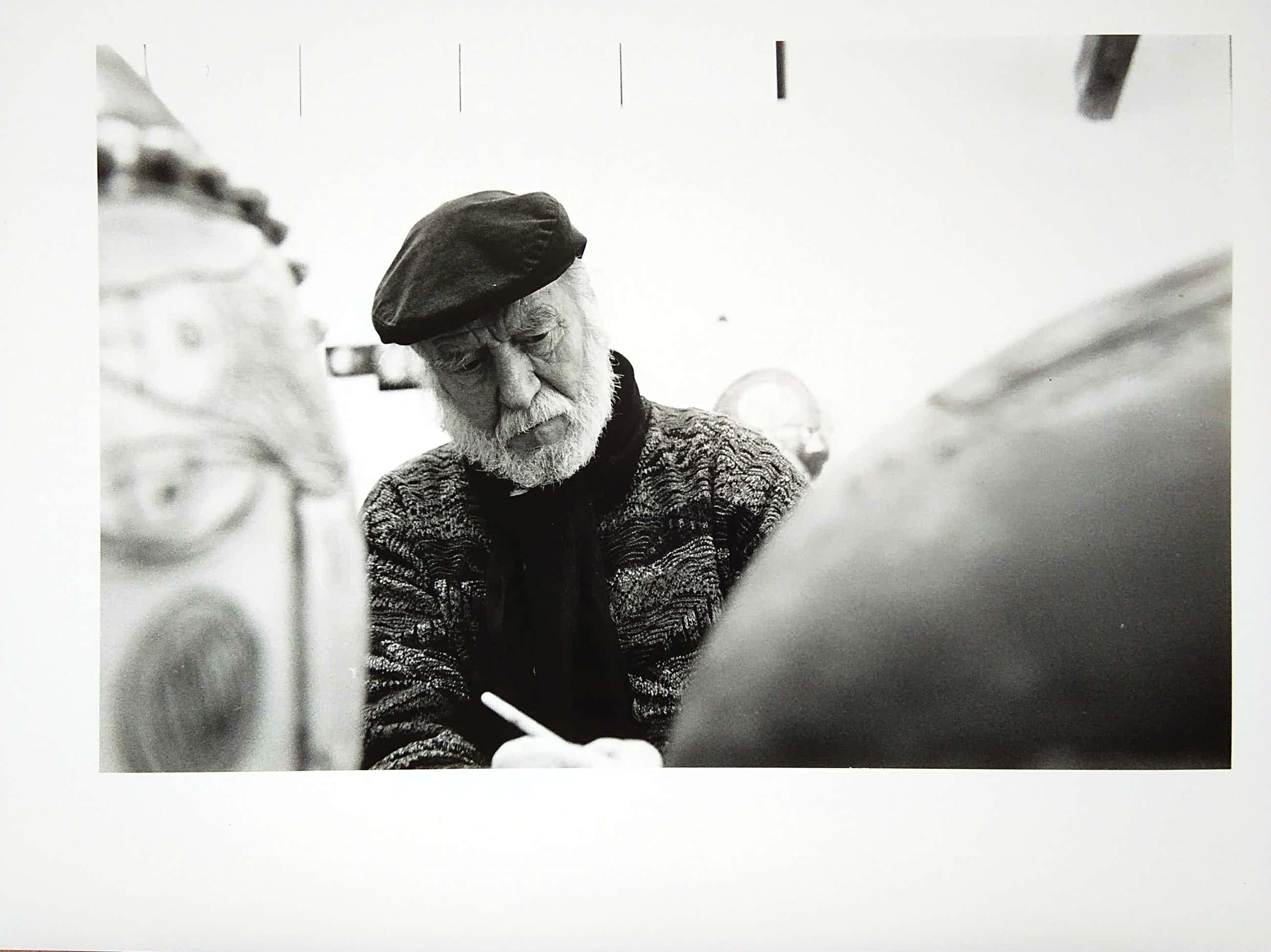 Nico Koster - Corneille in keramiek atelier. kopen? Bied vanaf 50!