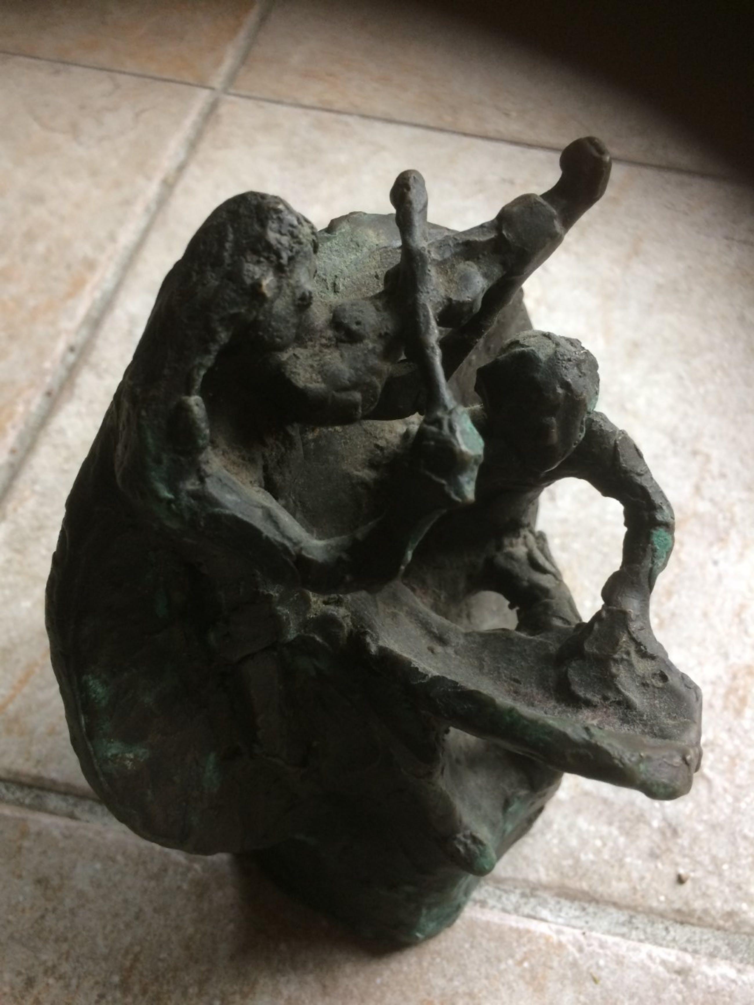 Jits Bakker - Muzikanten - bronzen beeld kopen? Bied vanaf 385!
