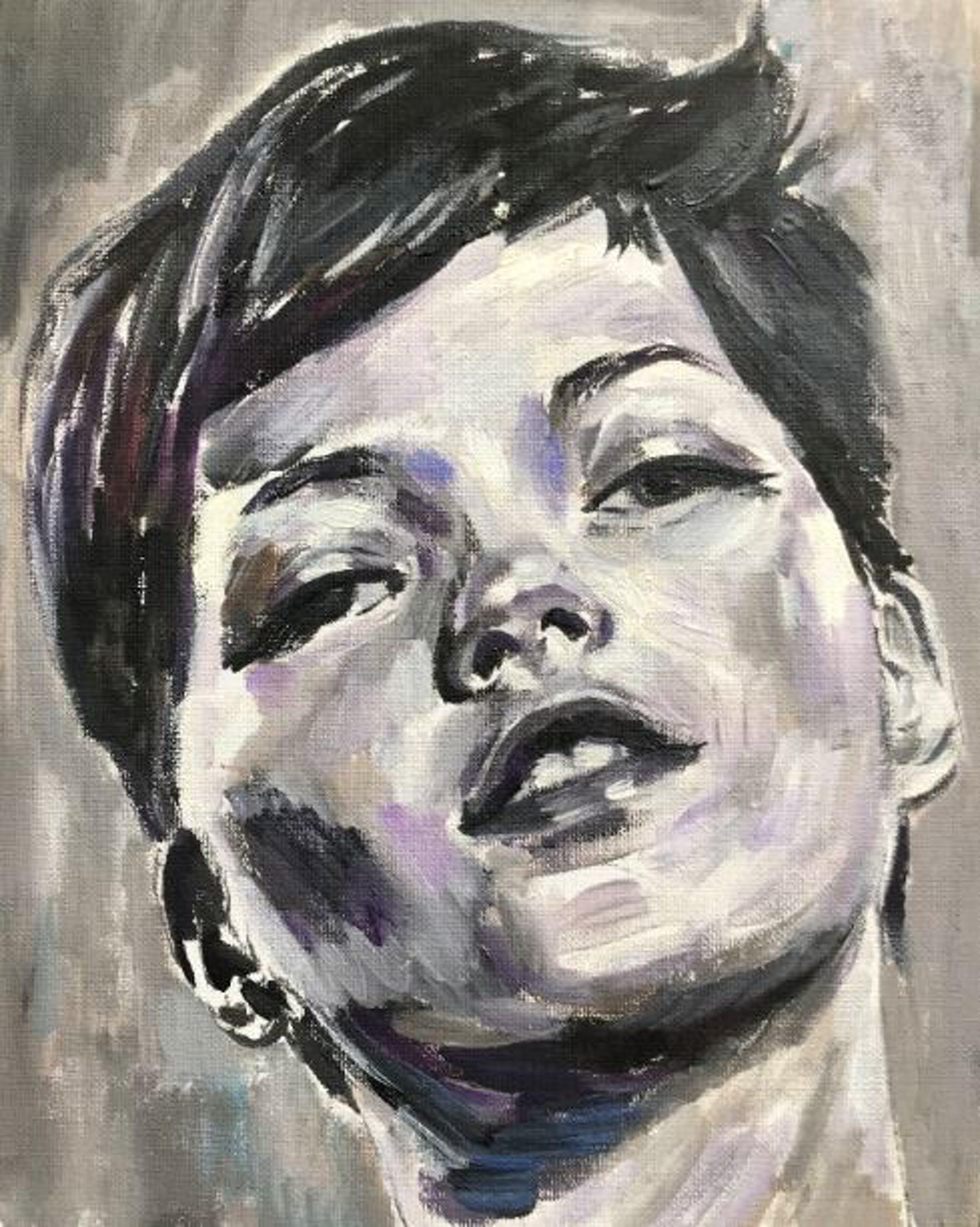 Gijs Donker - Origineel werk Gijs Donker – Kate Moss studie kopen? Bied vanaf 285!