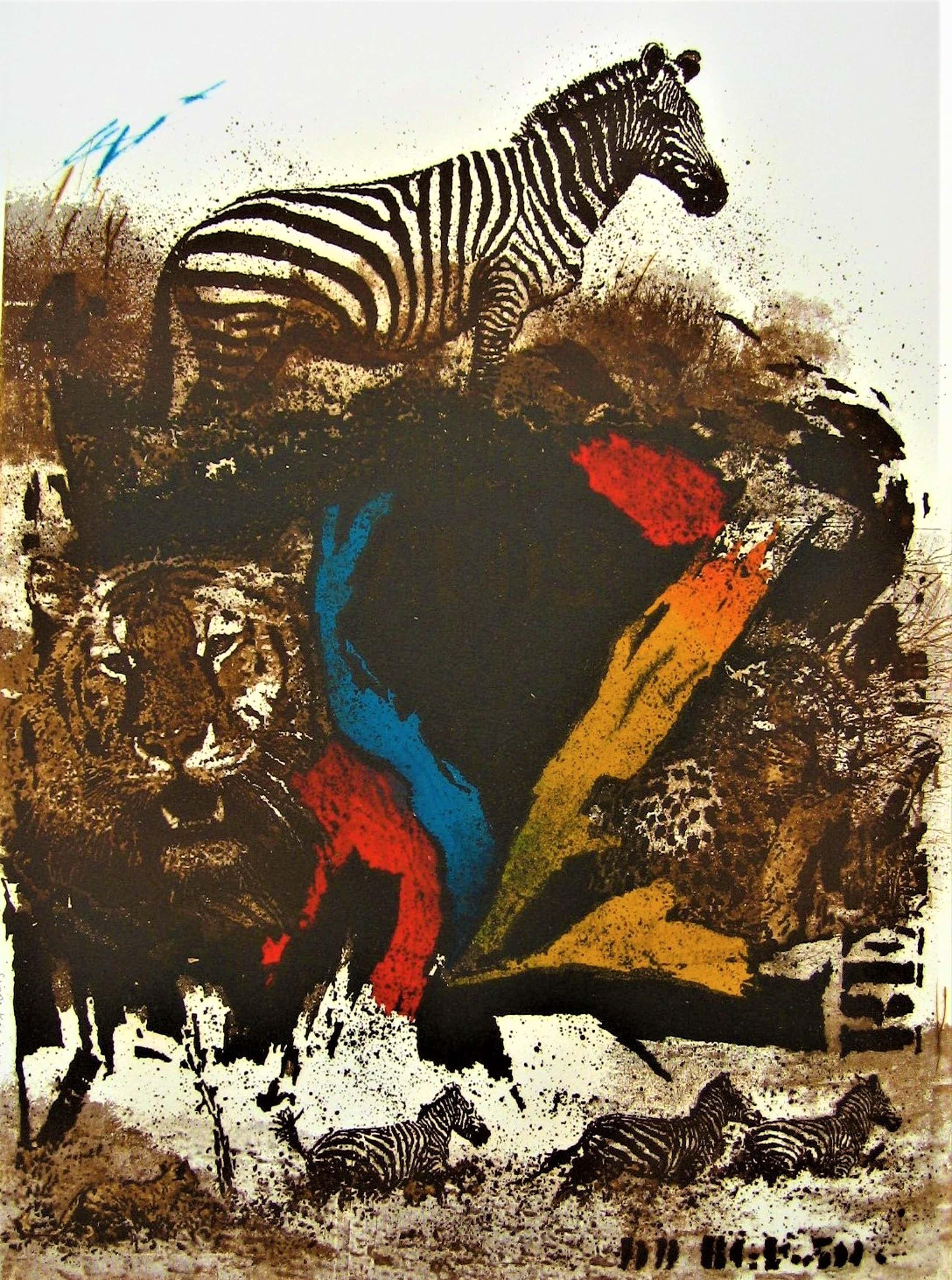 Simon Koene - Zebra (groot) kopen? Bied vanaf 45!