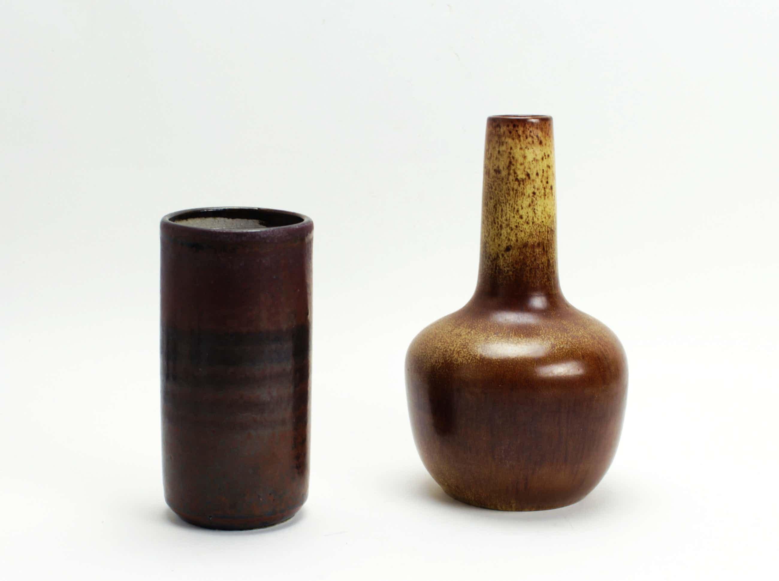 Potterij Zaalberg - 2 aardewerk vazen kopen? Bied vanaf 15!